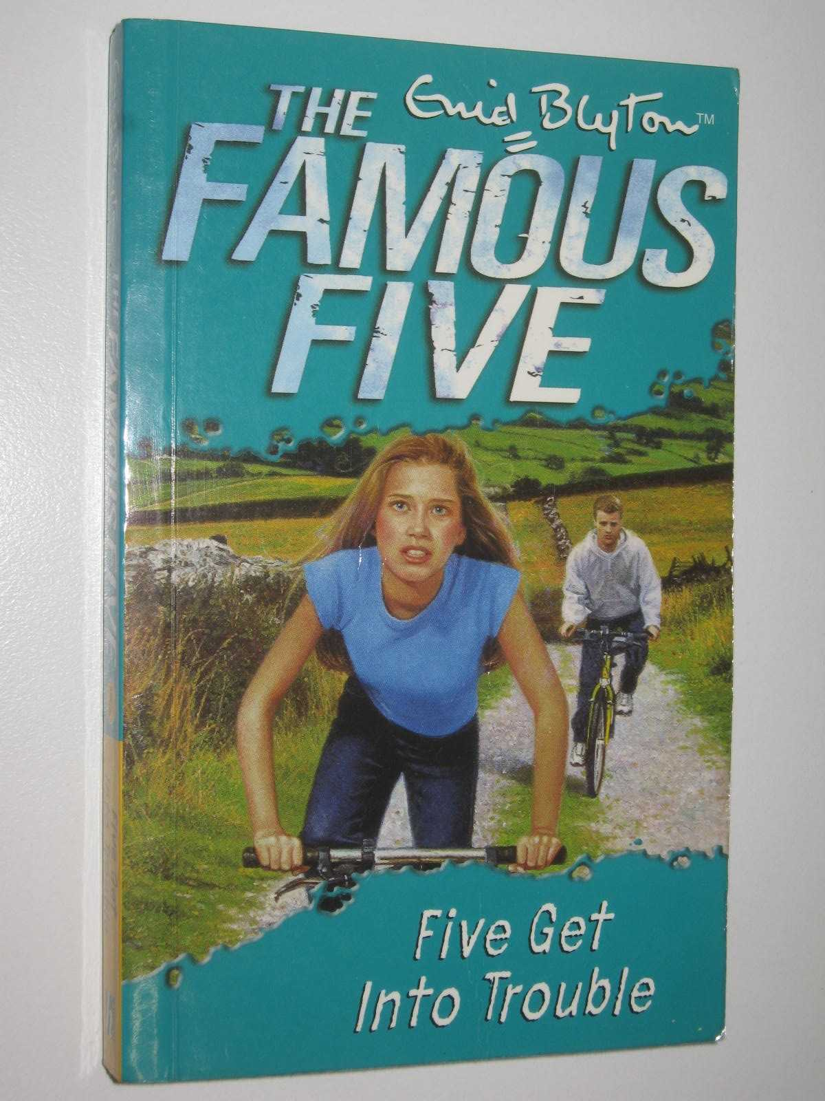 Image for Five Get Into Trouble - The Famous Five Series #8
