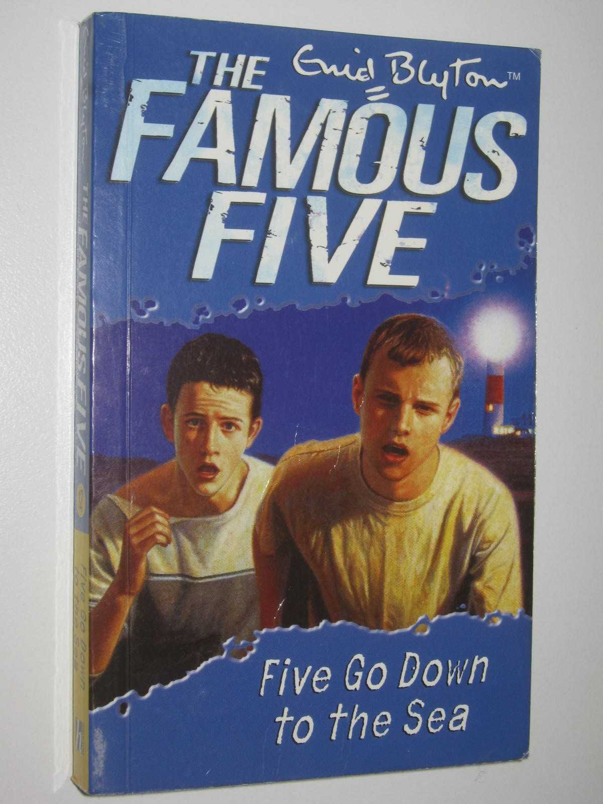 Image for Five Go Down to the Sea - The Famous Five Series #12