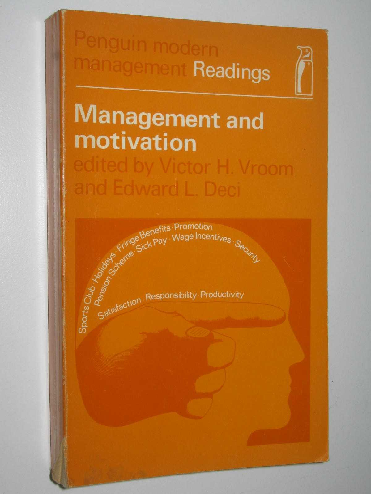 Image for Management and Motivation : Modern Management Readings