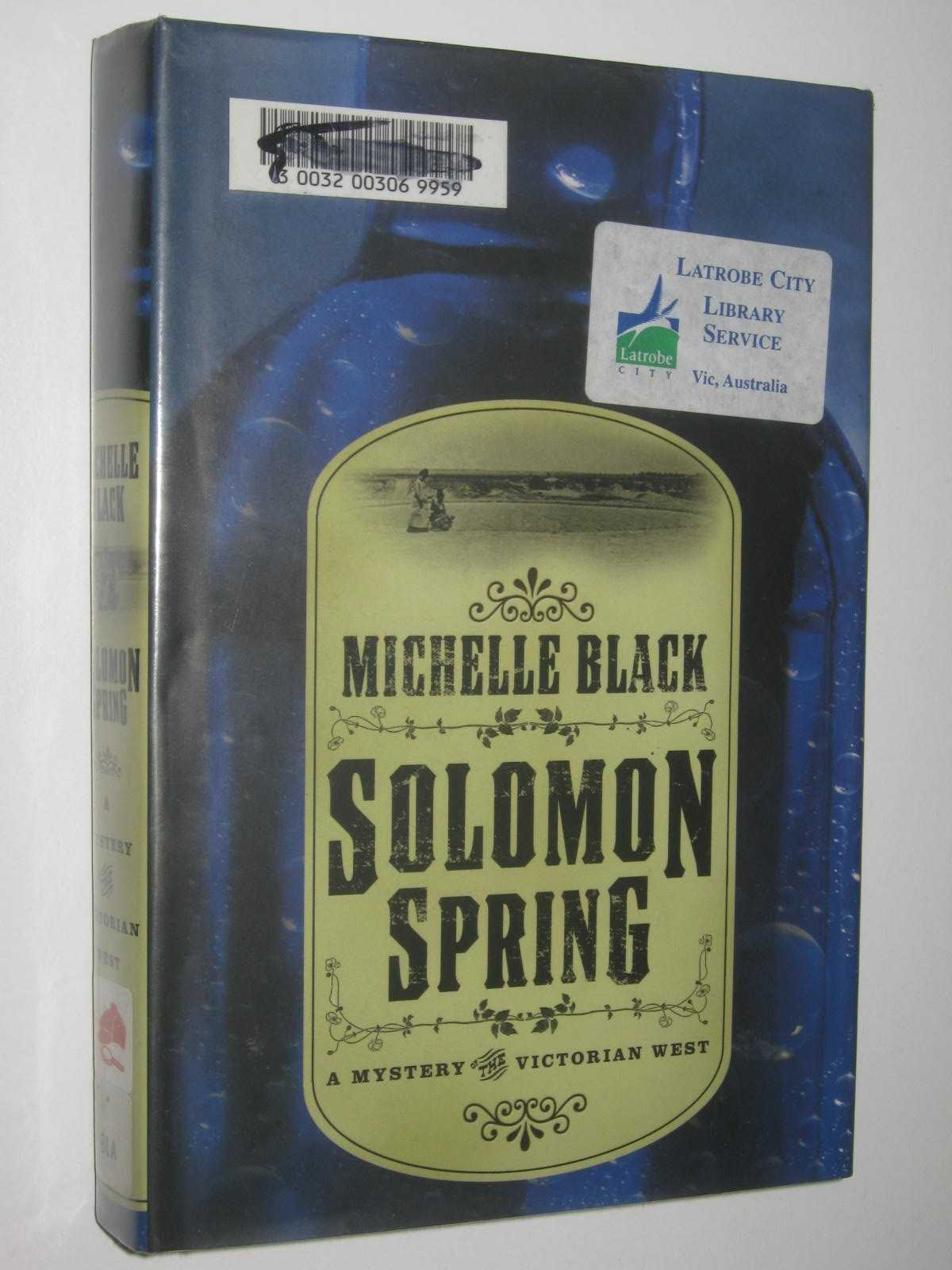 Image for Solomon Spring : A Mystery The Victorian West