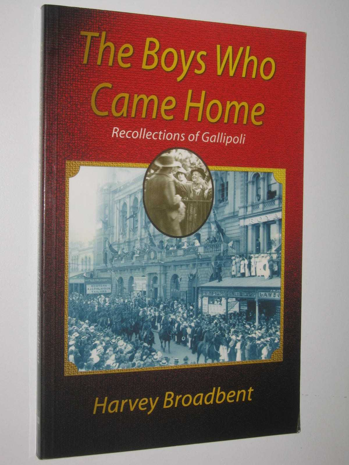 Image for The Boys Who Came Home : Recollections of Gallipoli