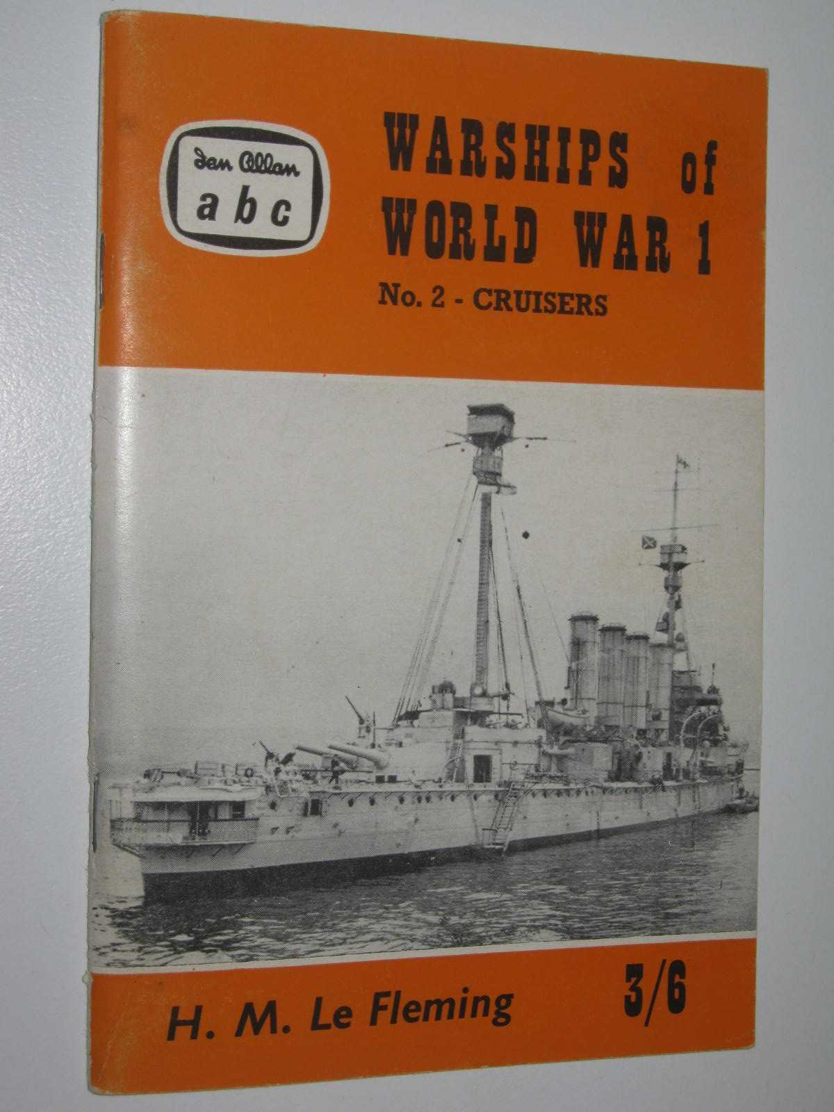 Image for Warships of World War 1 No. 2 - Cruisers (British and German)