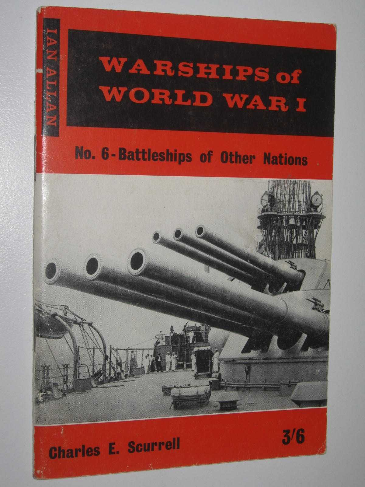 Image for Warships of World War 1 No. 6 - Battleships of Other Nations