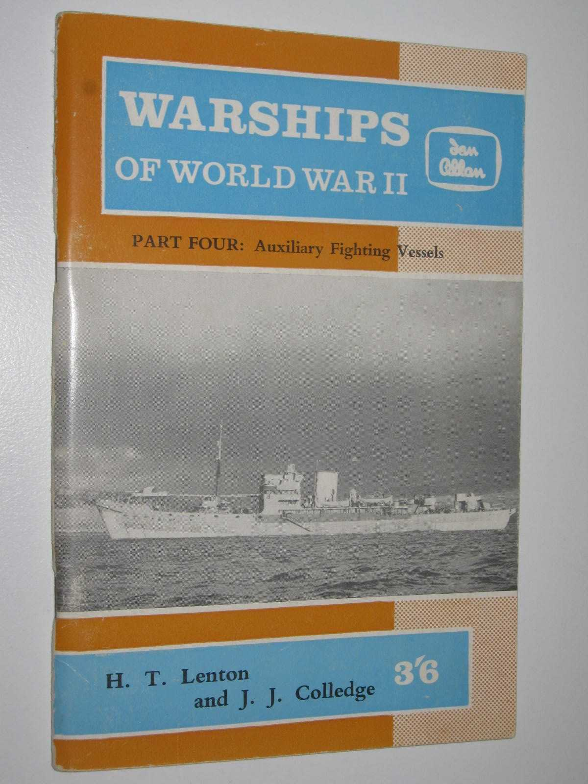 Image for Warships of World War II Part Four - Auxilary Fighting Vessels