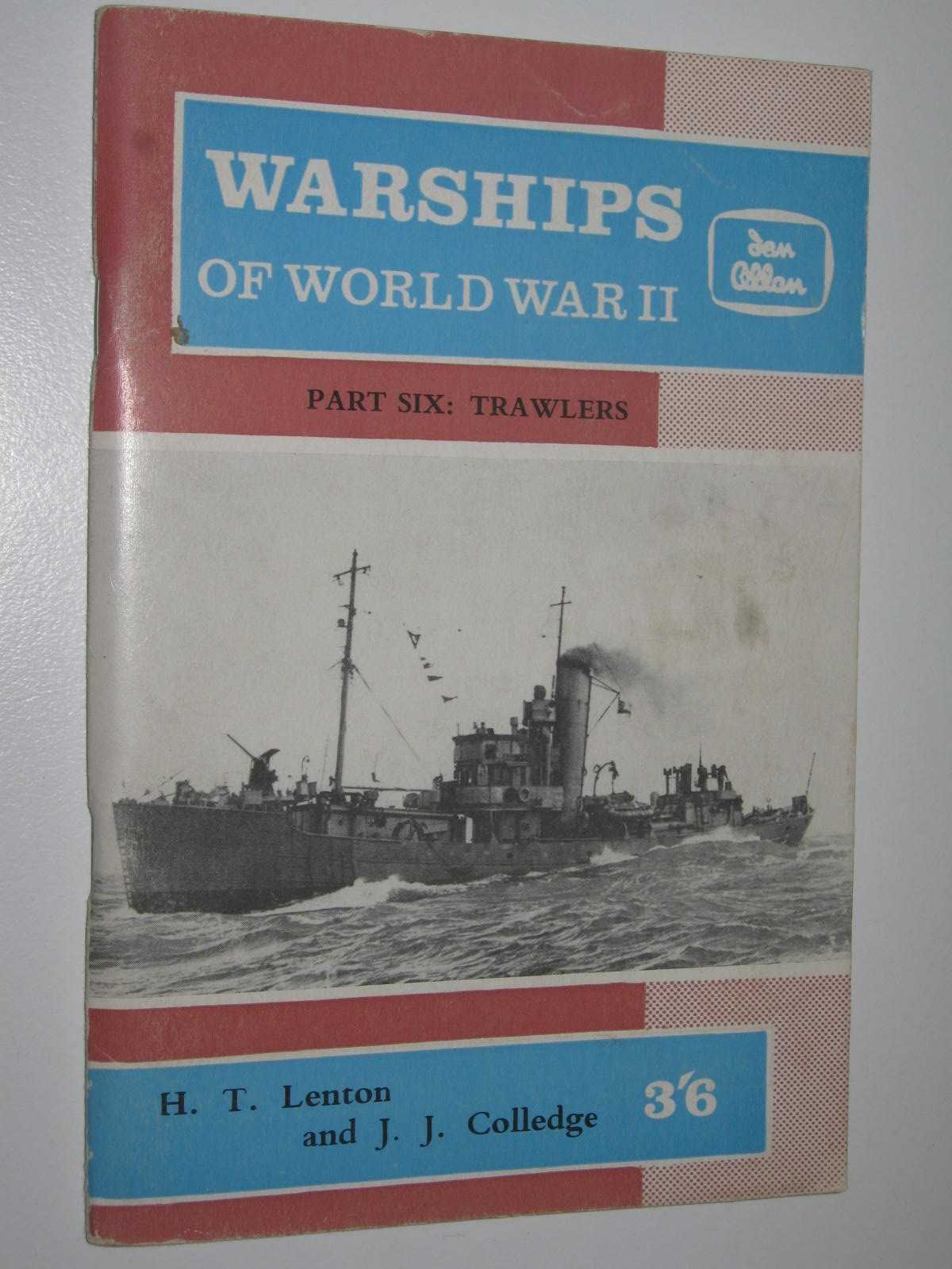 Image for Warships of World War II Part Six - Trawlers, Drifters and Whalers