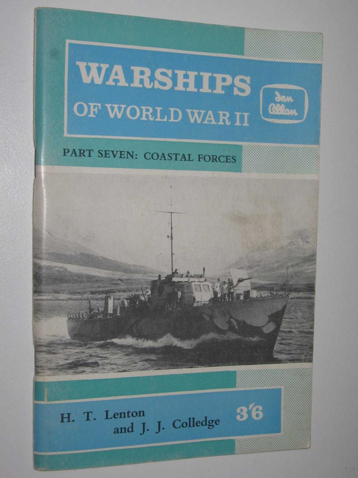 Image for Warships of World War II Part Seven- Coastal Forces