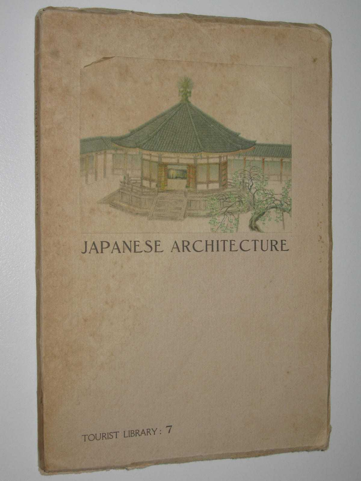 Image for Japanese Architecture - Tourist Library Series #7