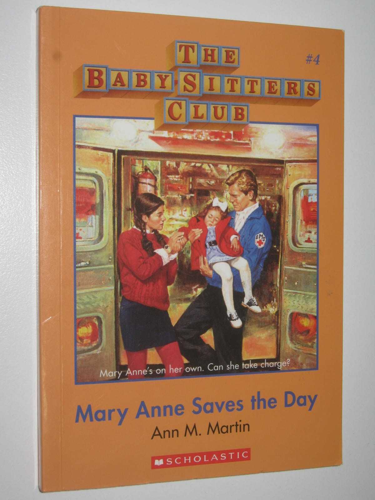 Image for Mary Anne Saves the Day - Baby-Sitters Club Series #4