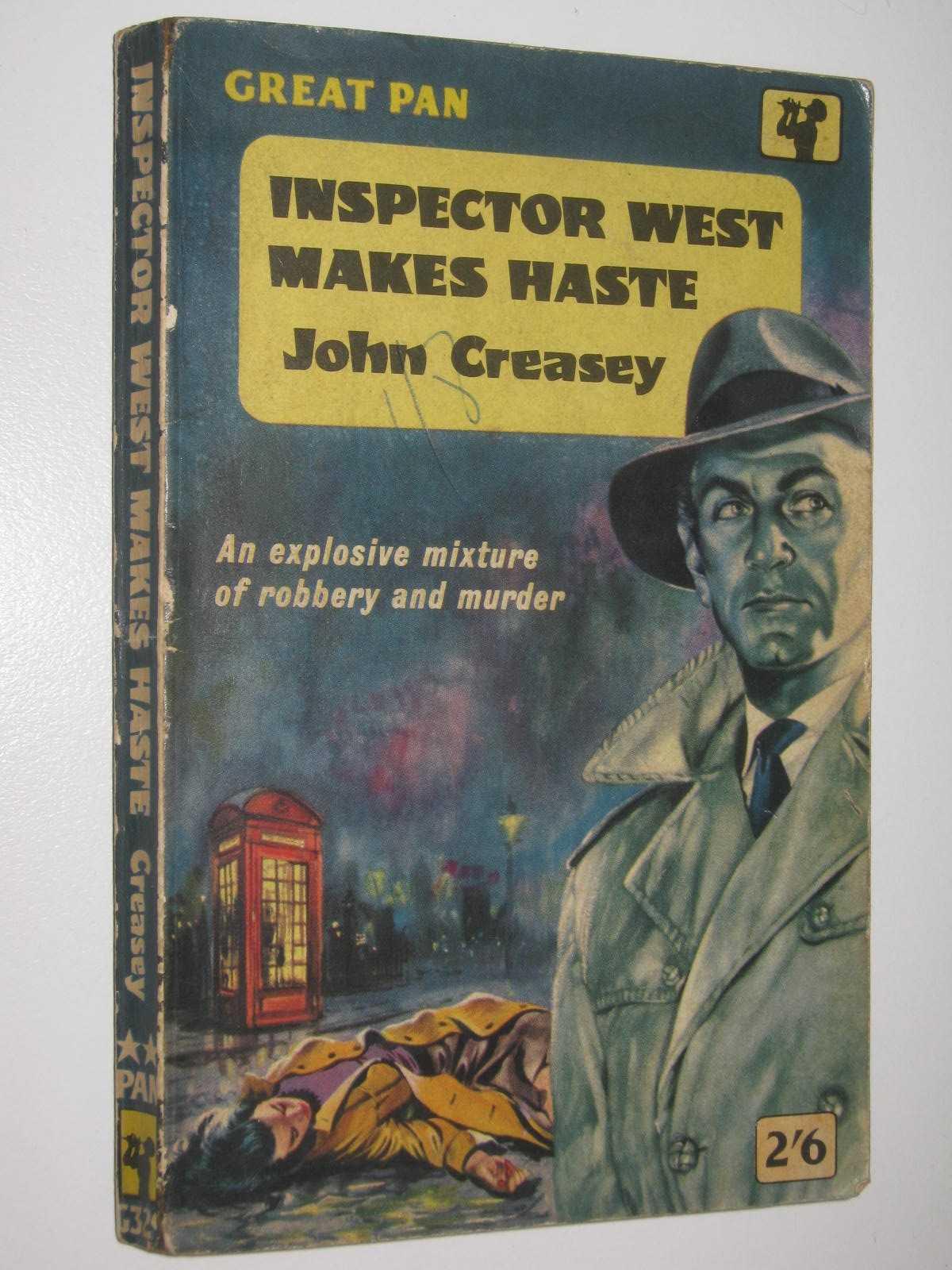 Image for Inspector West Makes Haste - Roger West Series #17