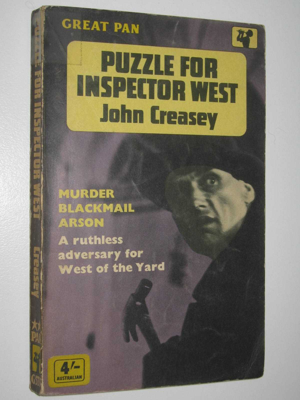 Image for Puzzle for Inspector West - Roger West Series #12