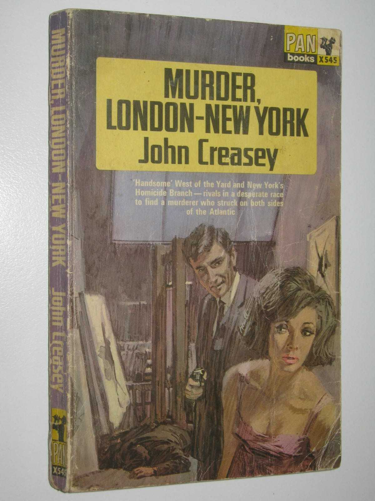 Image for Murder London-New York - Roger West Series #23