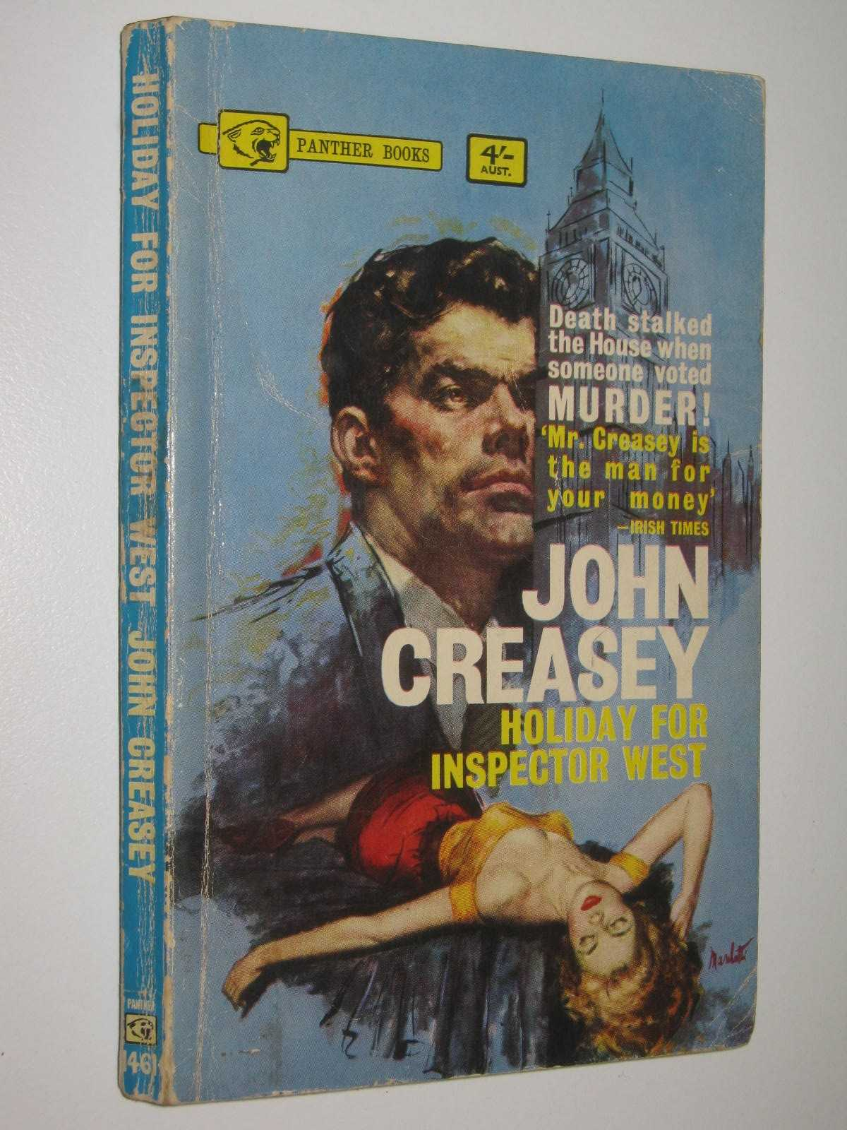 Image for Holiday for Inspector West - Roger West Series #5