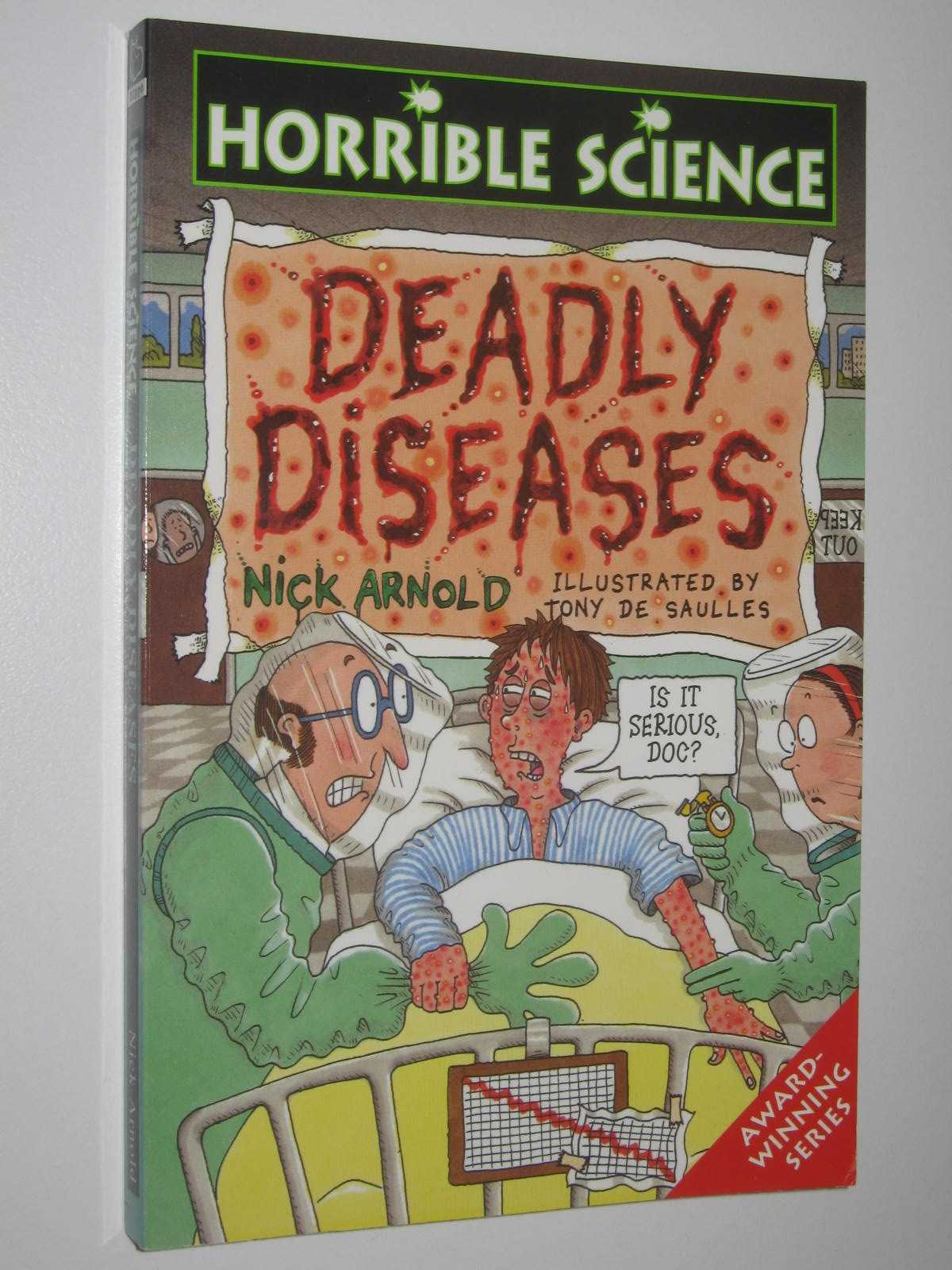 Image for Deadly Diseases - Horrible Science Series