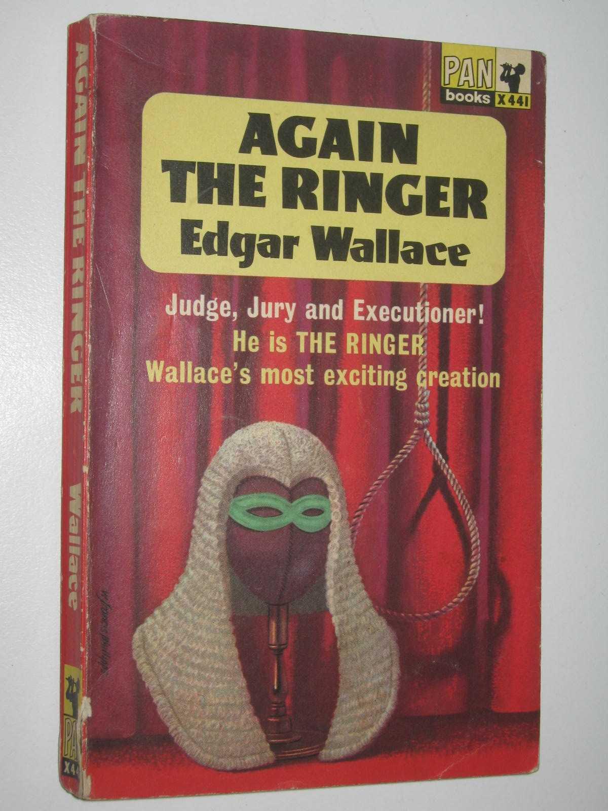 Image for Again the Ringer - Four Just Men Series #6