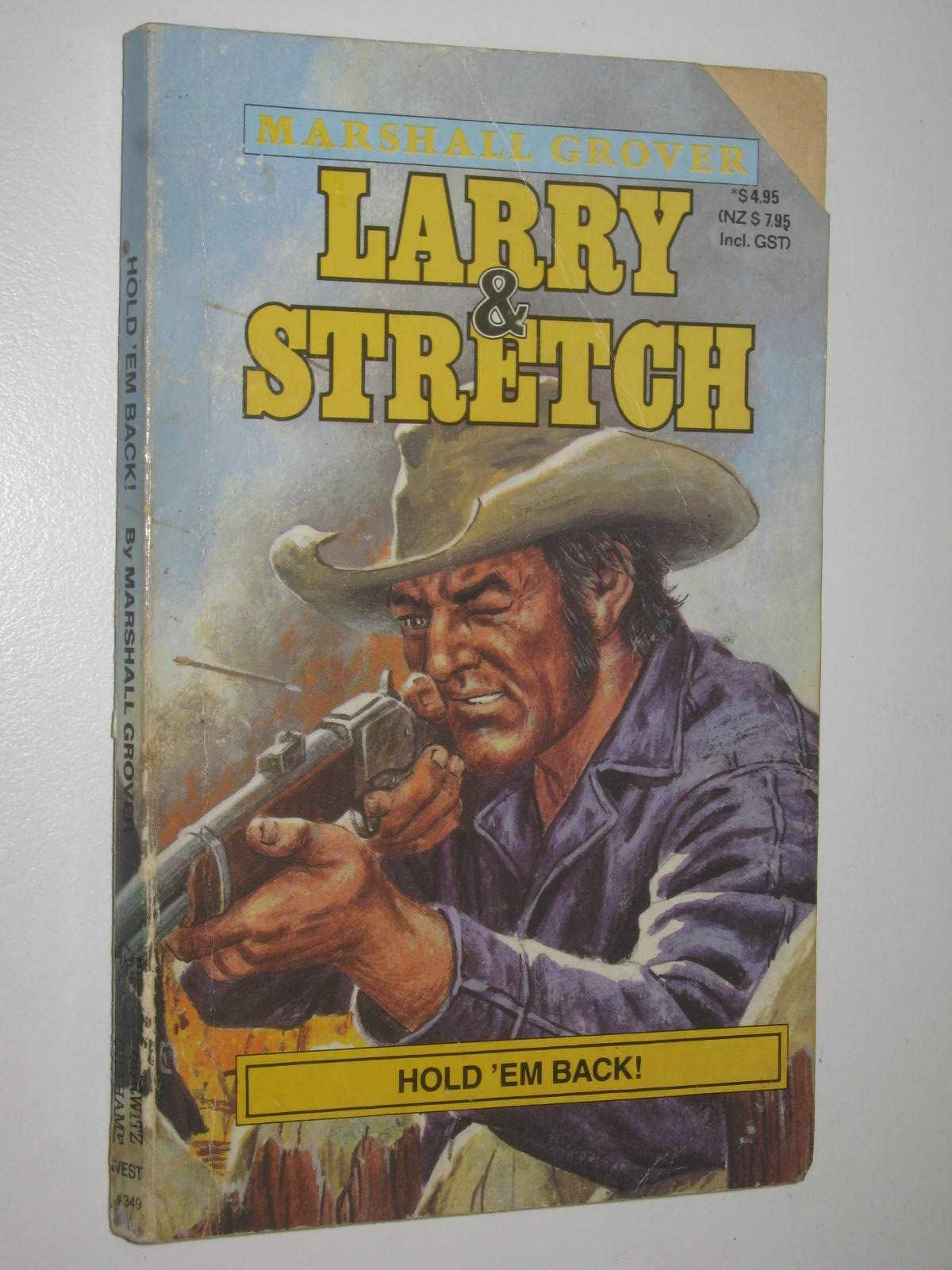 Image for Hold 'em Back - Larry and Stretch Series #349