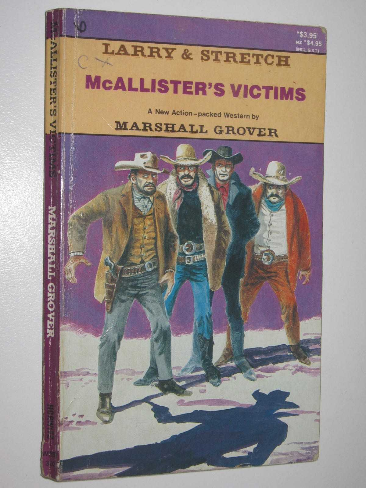 Image for McAllister's Victims - Larry and Stretch Series #303