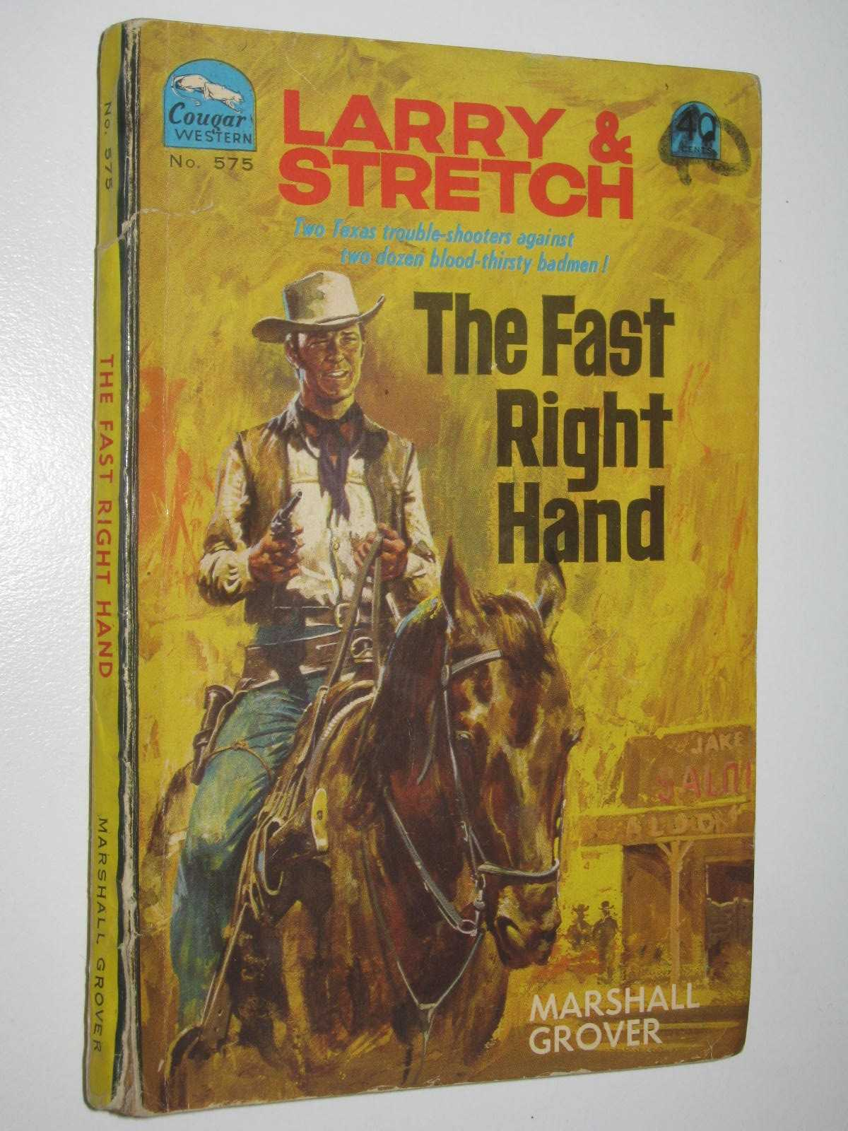 Image for The Fast Right Hand - Larry and Stretch [Cougar Western] Series #575