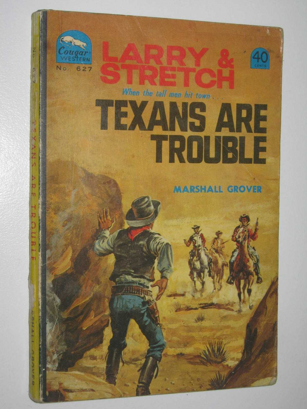 Image for Texans are Trouble - Larry and Stretch [Cougar Western] Series #627