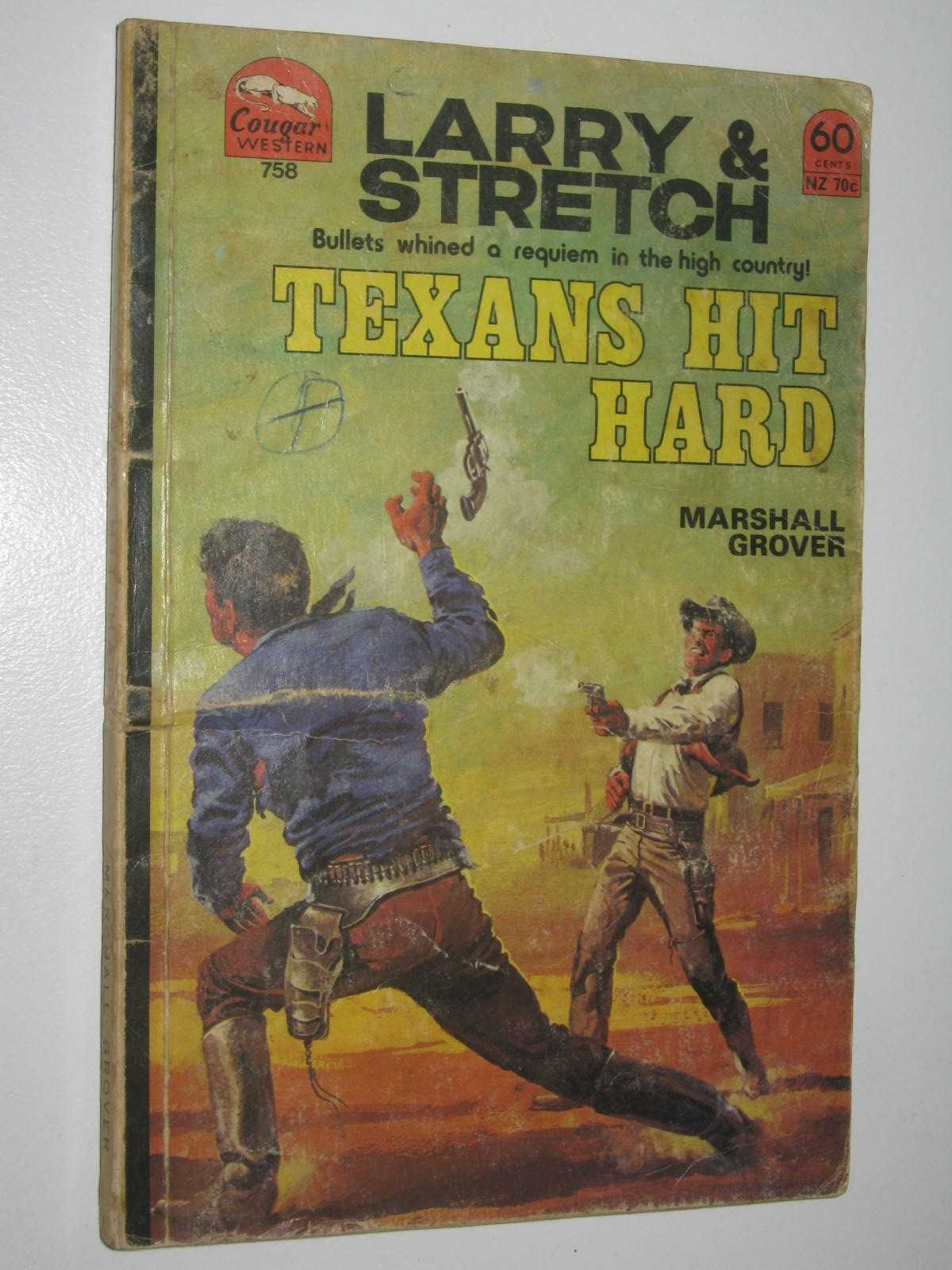 Image for Texans Hit Hard - Larry and Stretch [Cougar Western] Series #758