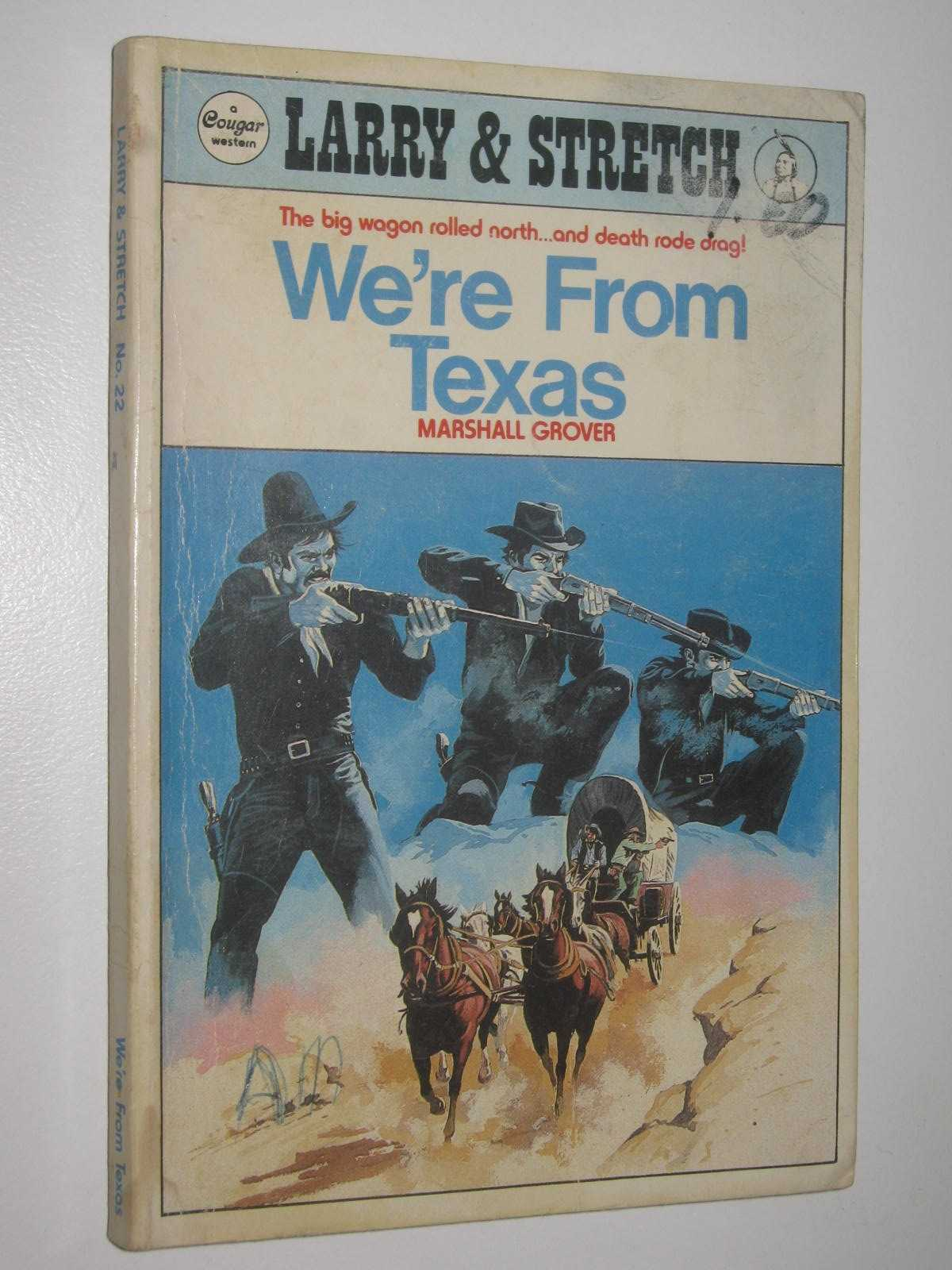 Image for We're from Texas - Larry and Stretch [Cougar Western] Series #22