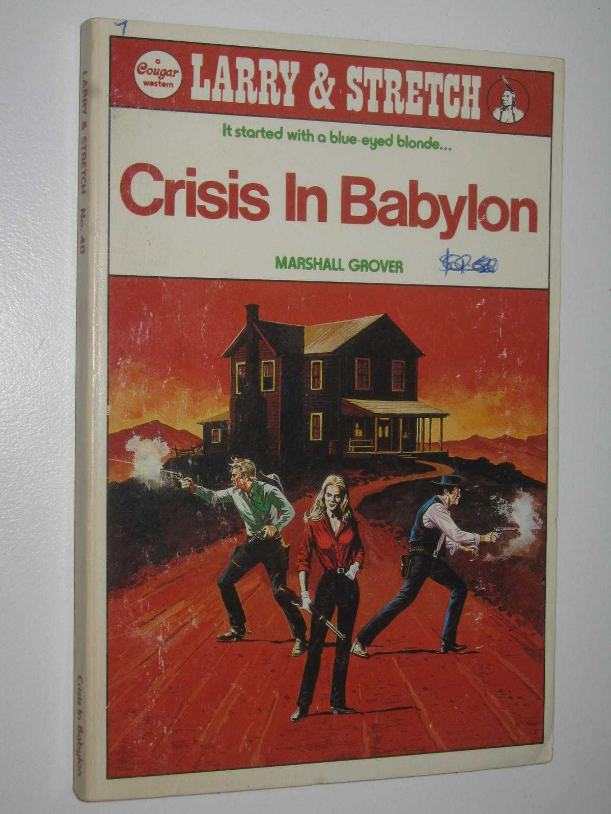 Image for Crisis in Babylon - Larry and Stretch [Cougar Western] Series #40