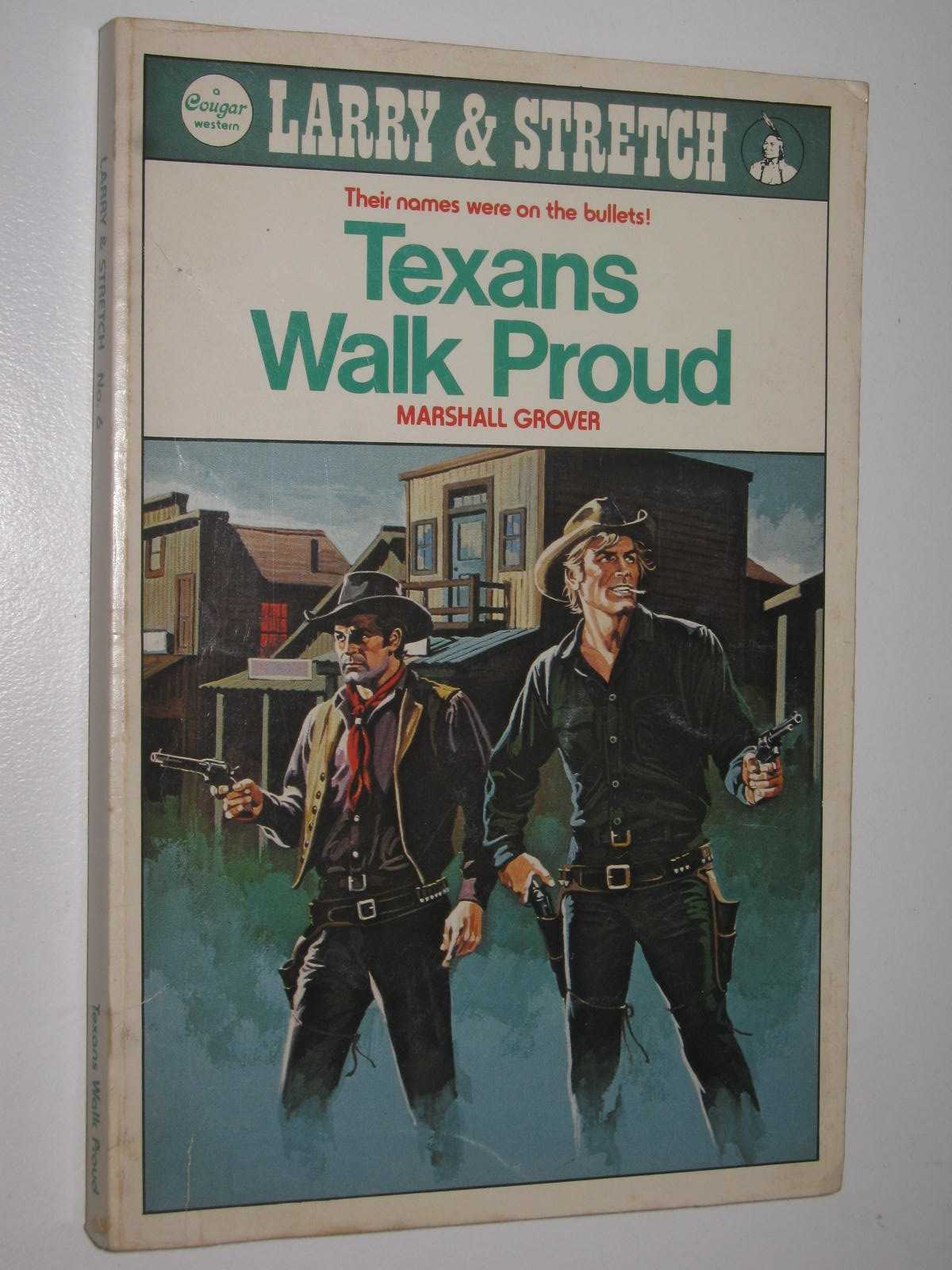 Image for Texans Walk Proud - Larry and Stretch [Cougar Western] Series #6