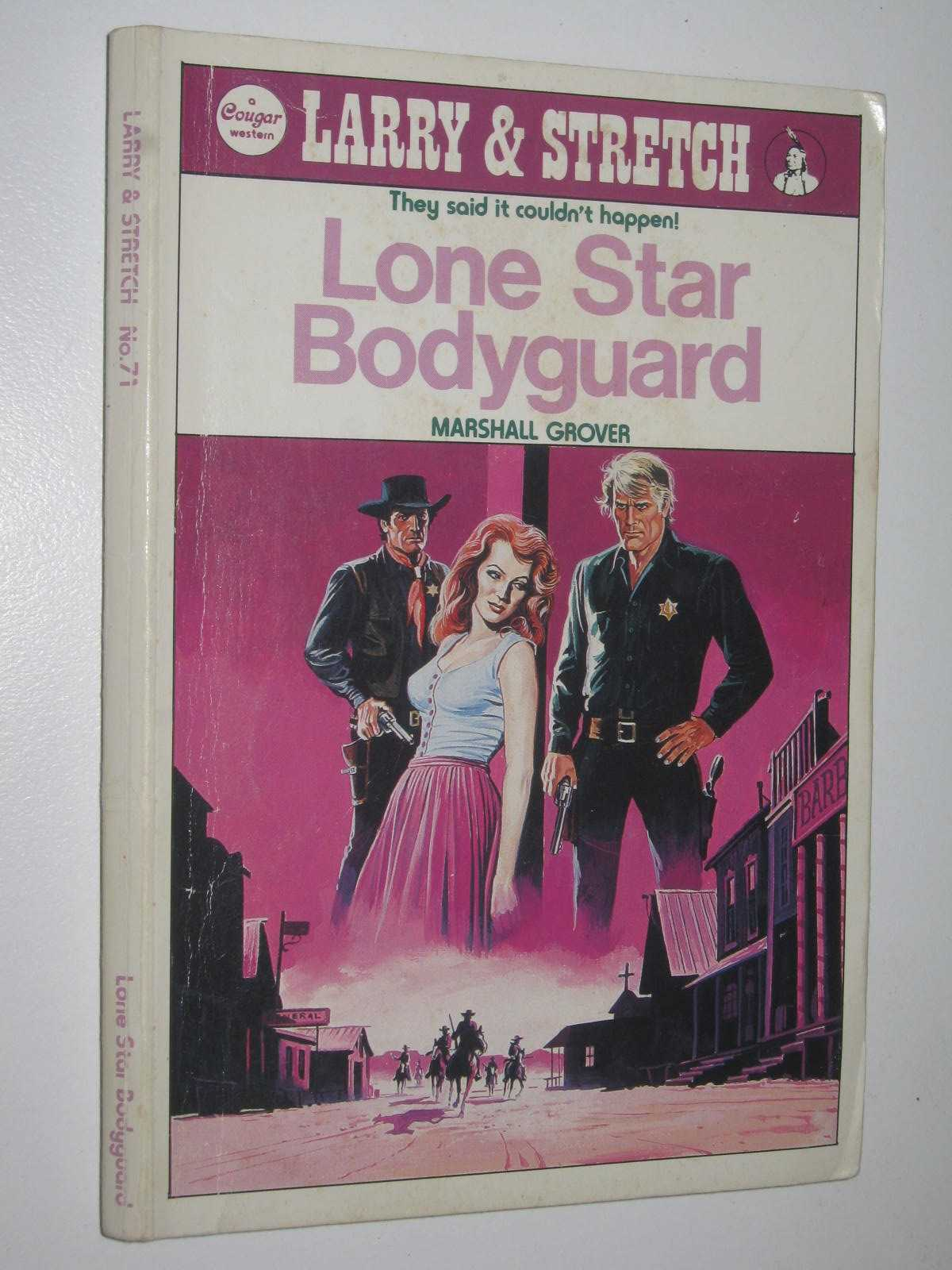 Image for Lone Star Bodyguard - Larry and Stretch [Cougar Western] Series #71