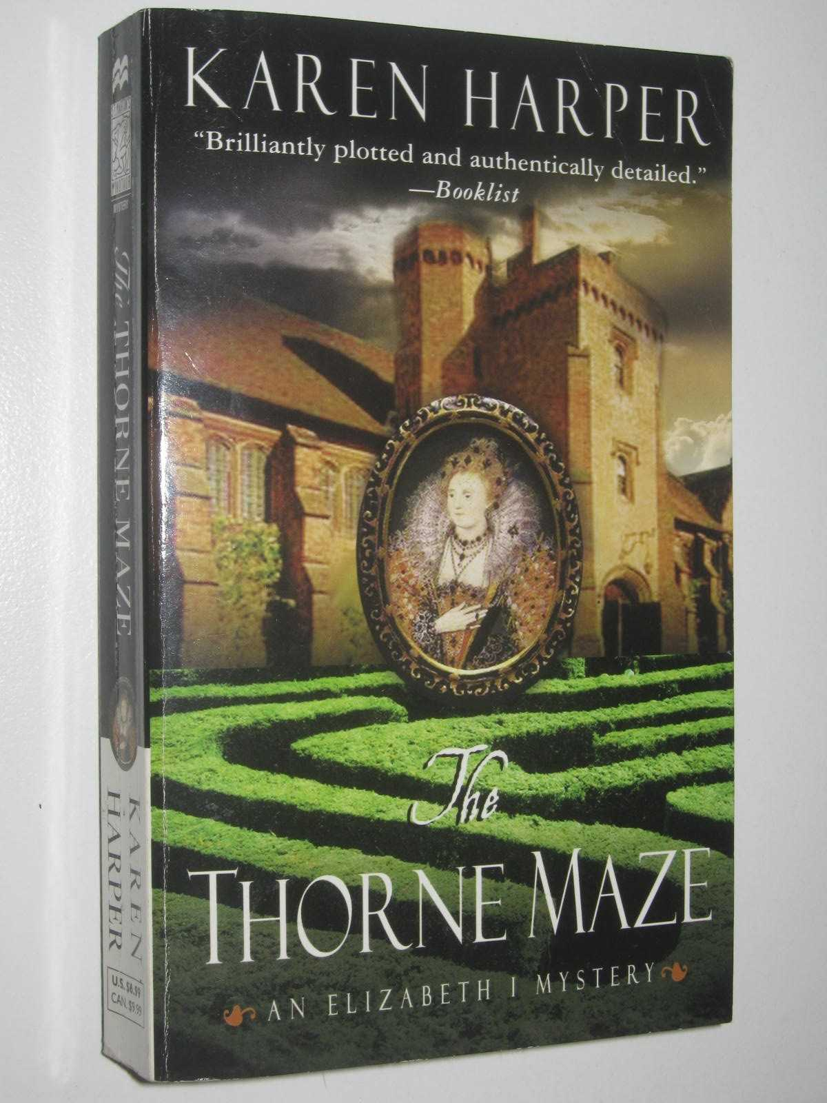 Image for The Throne Maze - Elizabeth I Series #5