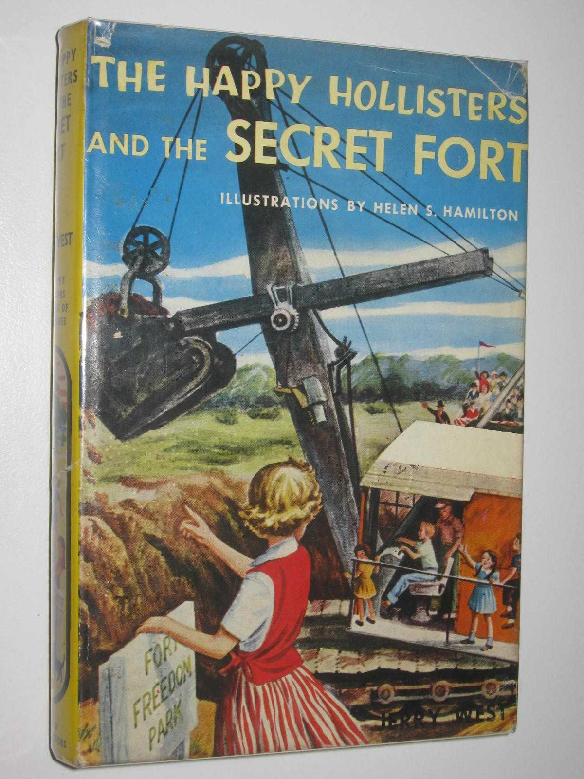 Image for The Happy Hollisters and the Secret Fort - The Happy Hollisters Series #11