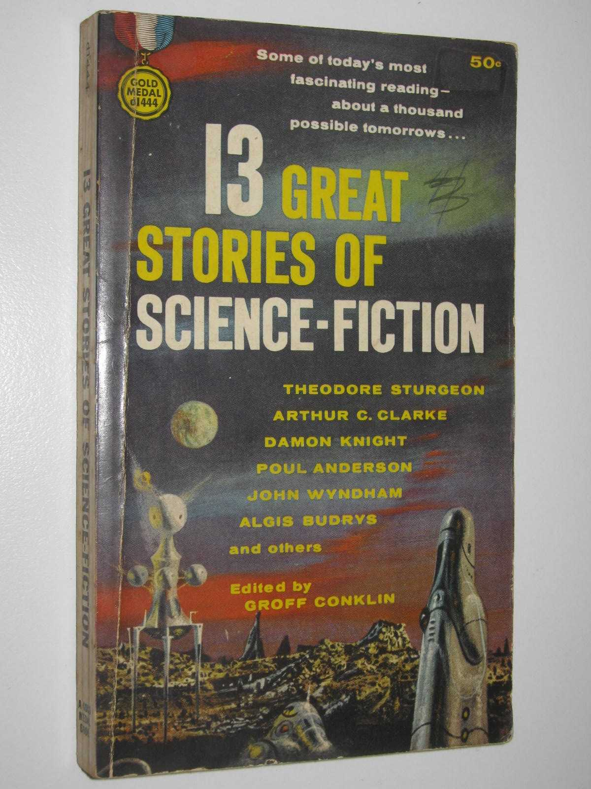 Image for 13 Great Stories of Science-Fiction