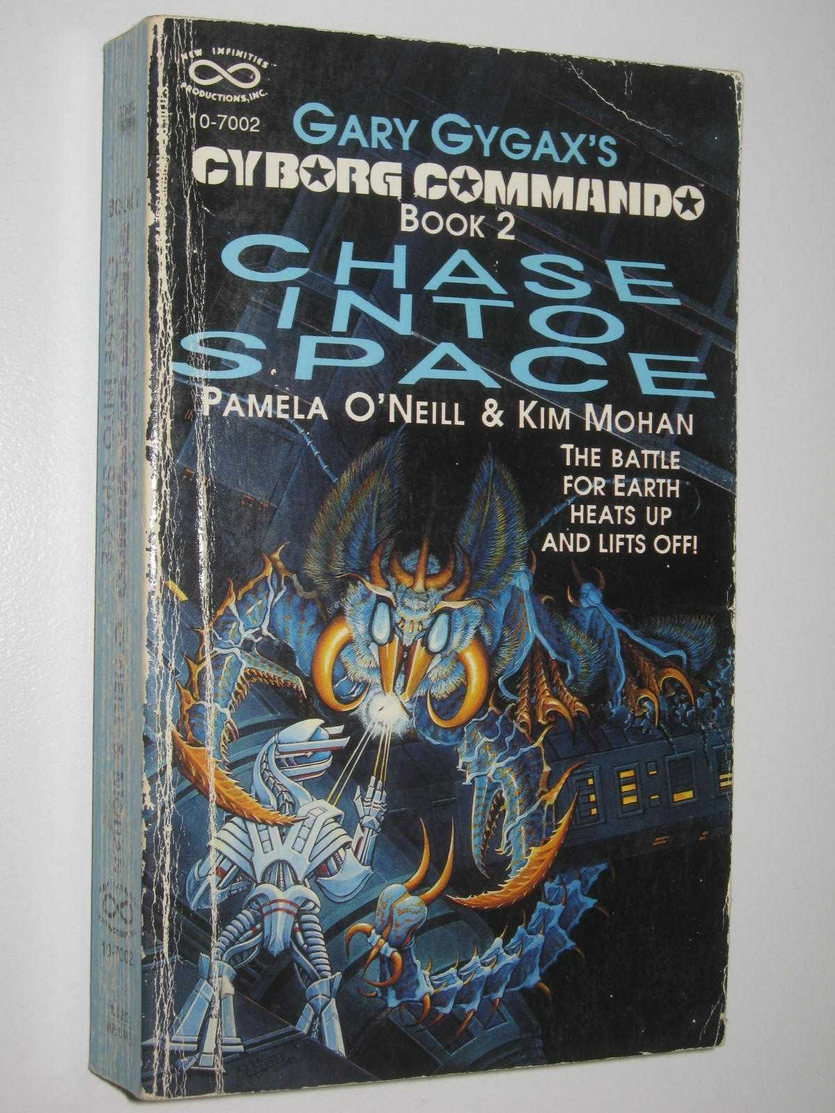 Image for Chase Into Space - Cyborg Command Series #2