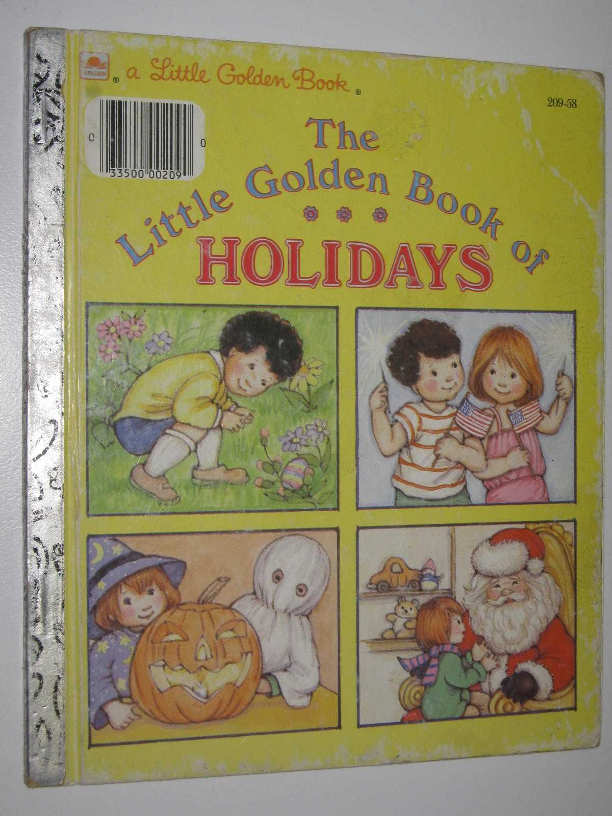 Image for The Little Golden Book Of Holidays - Little Golden Book Series #209-58