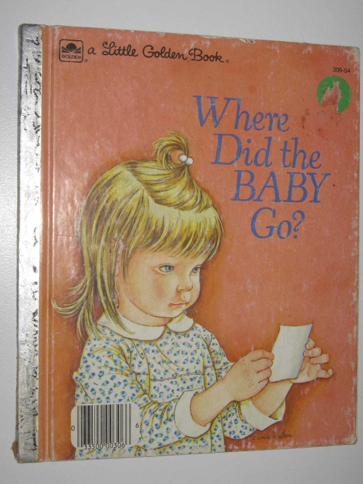 Image for Where Did The Baby Go - Little Golden Book Series #306-54