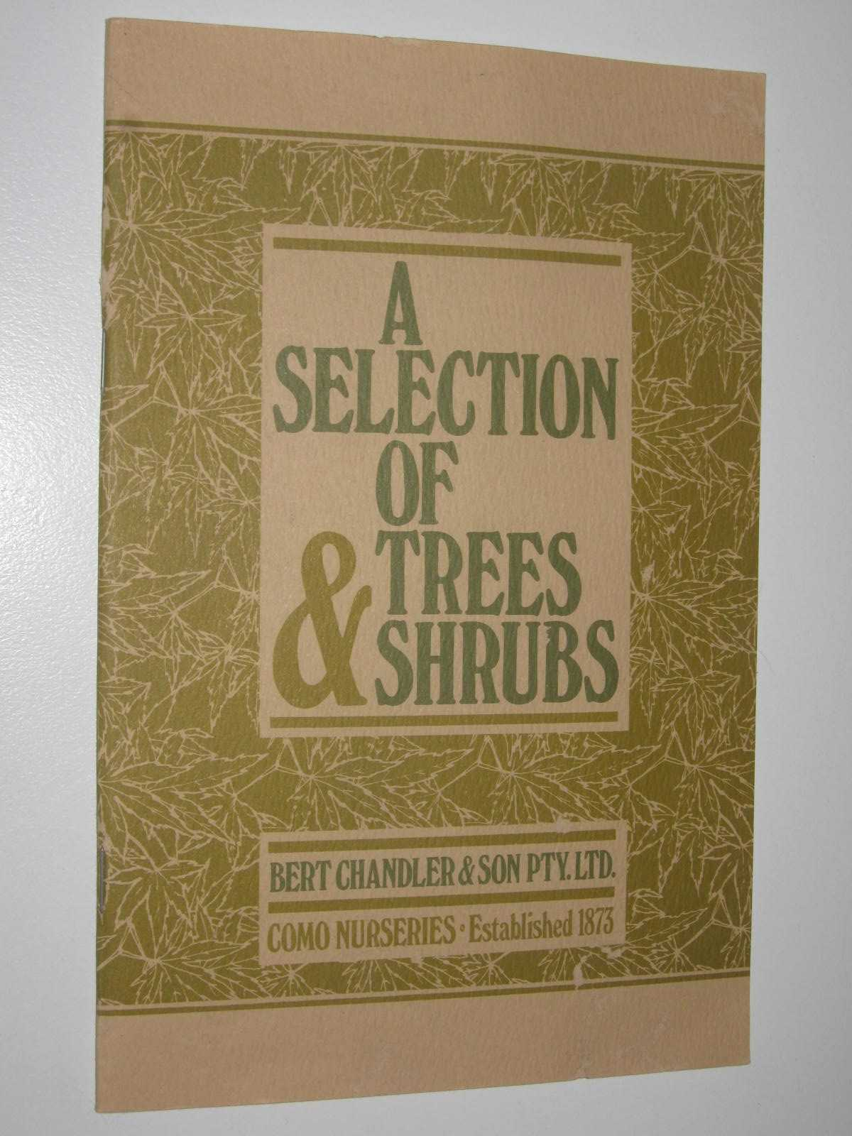 Image for A Selection Of Trees & Shrubs