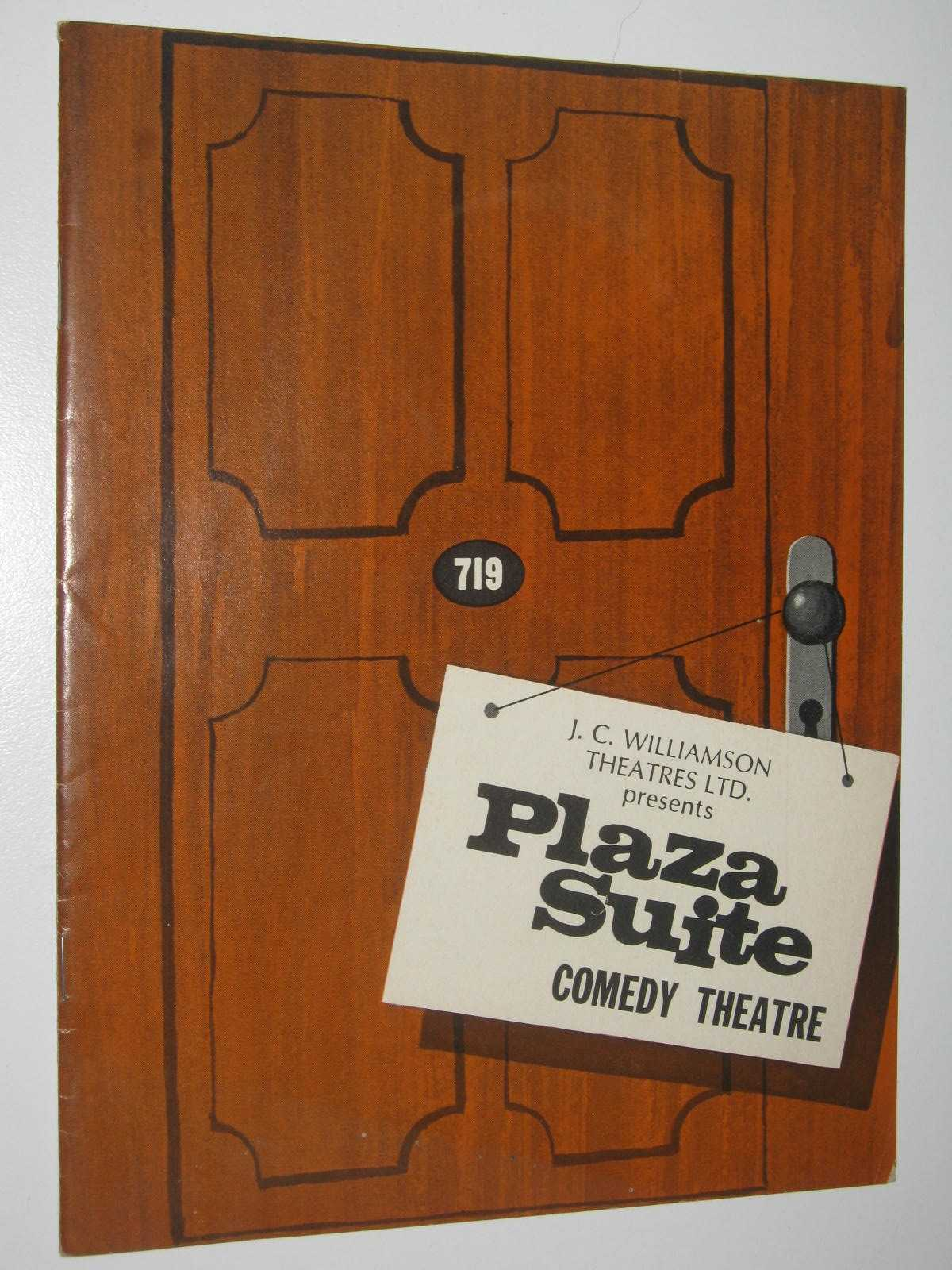 Image for Plaza Suite: Comedy Theatre Program