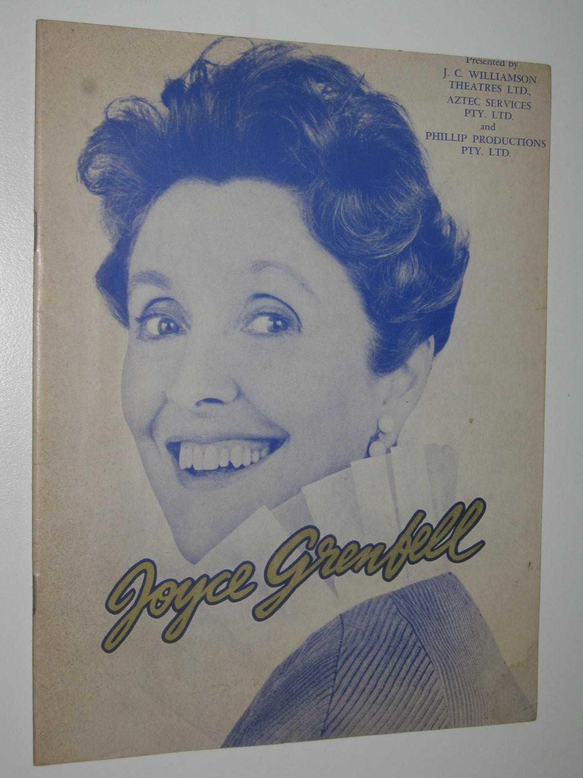Image for Joyce Grenfell, the Peerless Solo Artist 1969 Tour Program