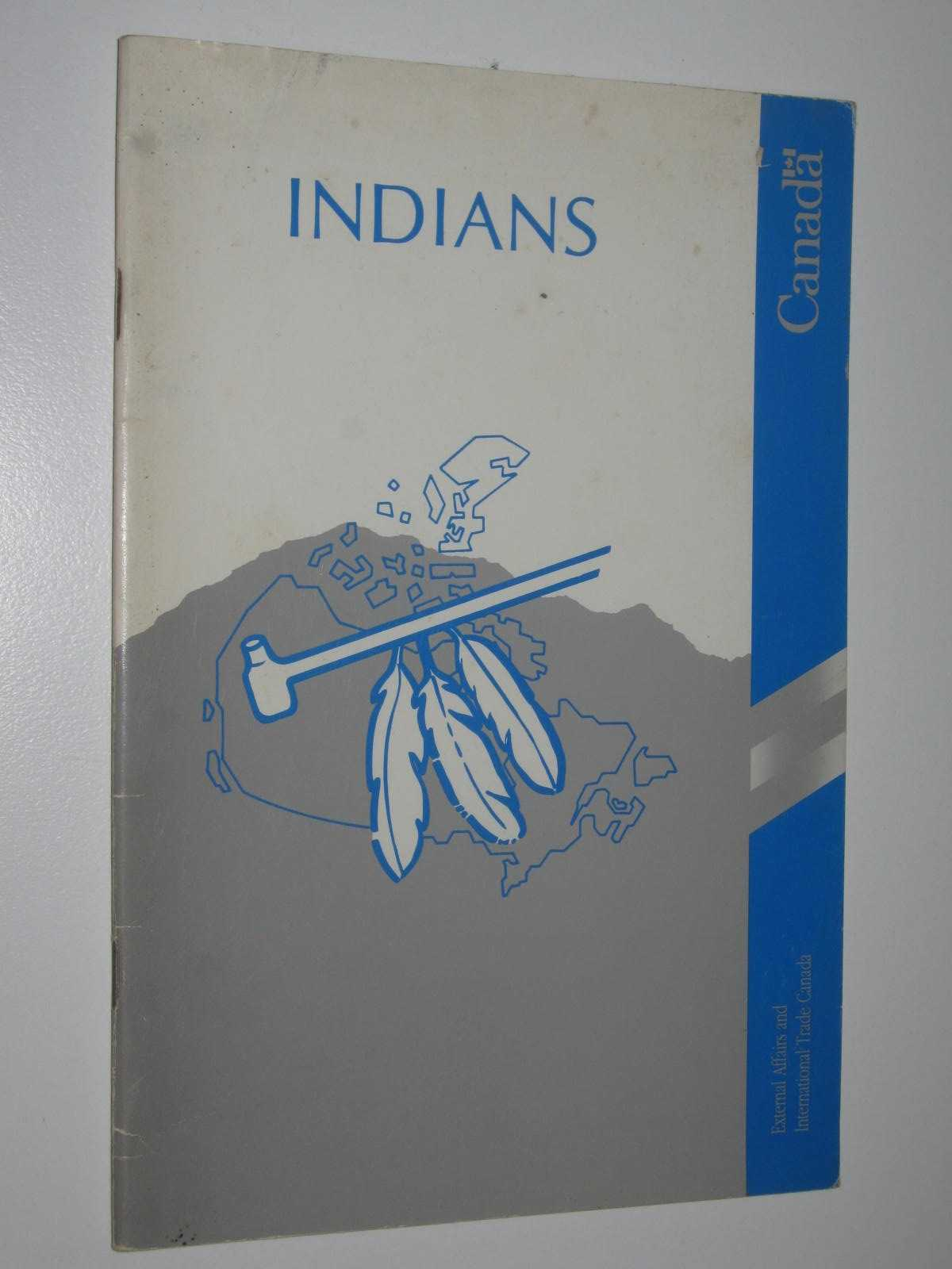 Image for Indians of Canada : Reference Series No. 2