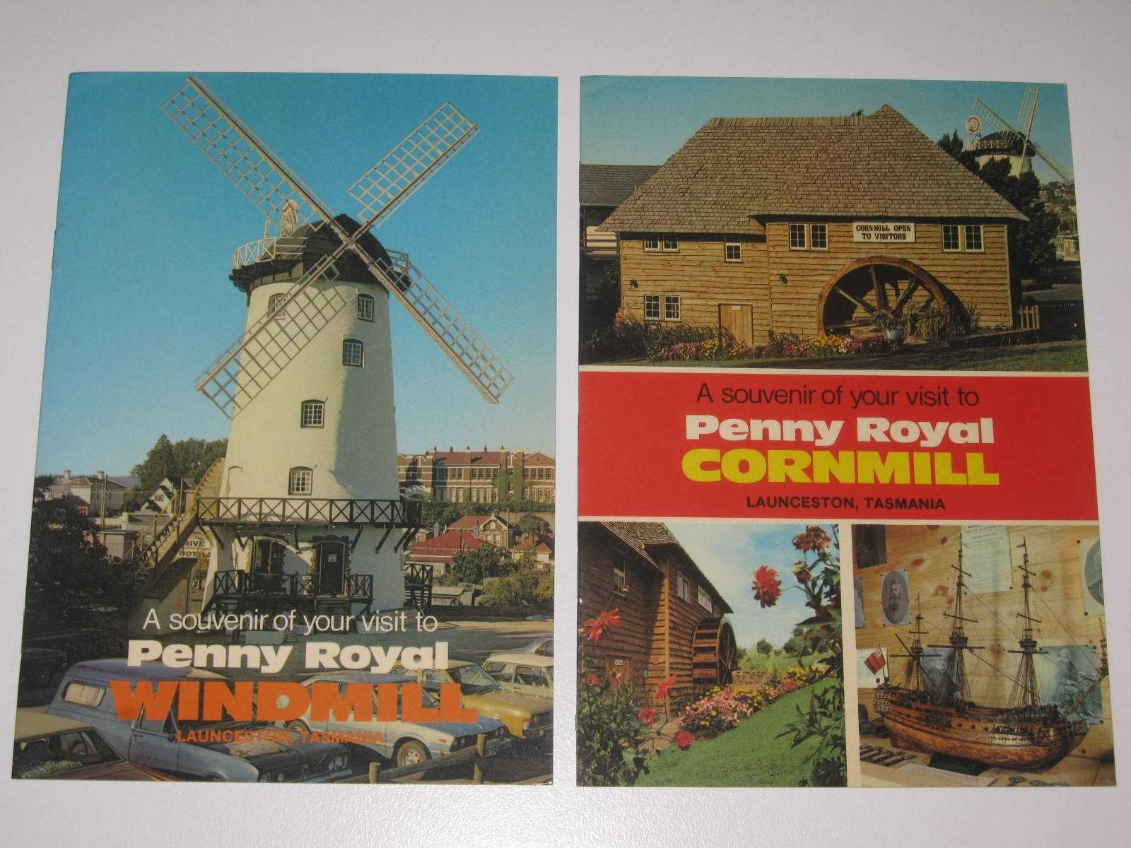 Image for Penny Royal Windmill + Penny Royal Cornmill : Souvenir Booklets