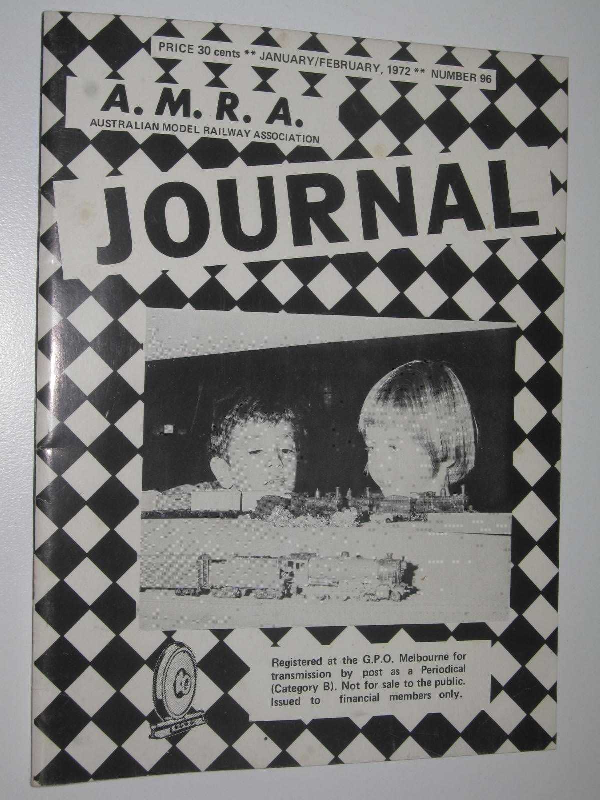 Image for A.M.R.A. Journal No. 96