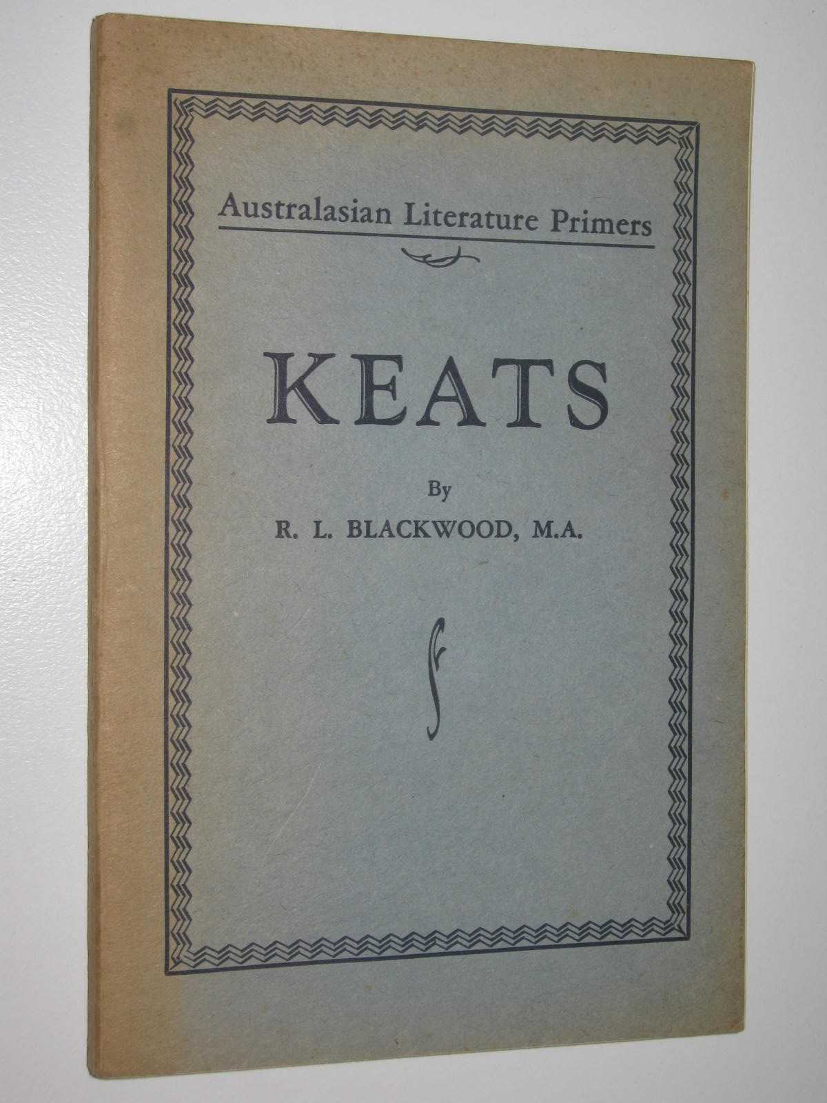 Image for Keats - Australasian Literature Primers Series