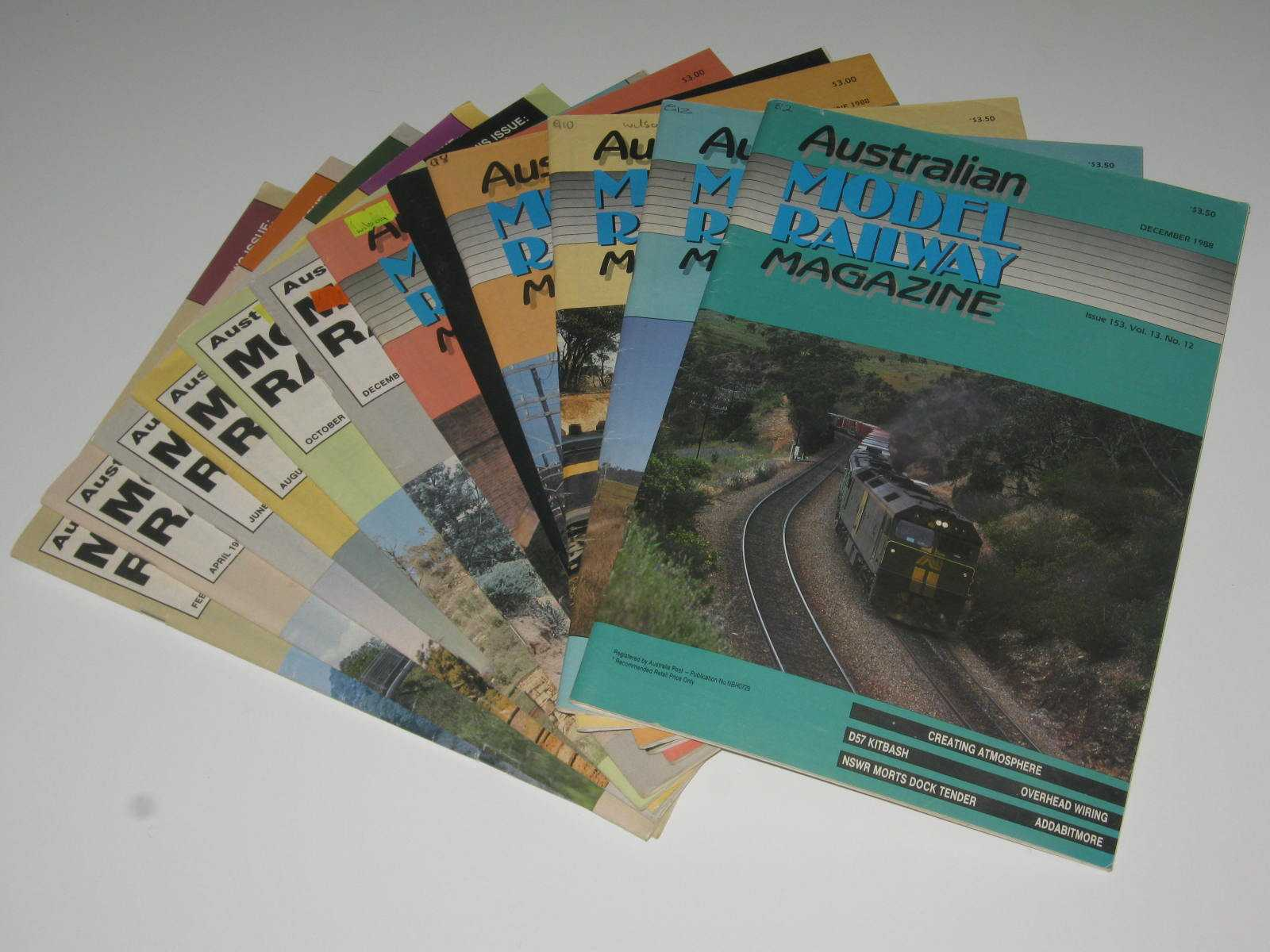 Image for Australian Model Railway Magazine Volume 13 : Issues 142 to 153