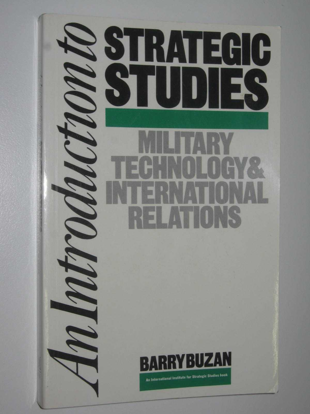 Image for An Introduction to Strategic Studies : Military Technology and International Relations