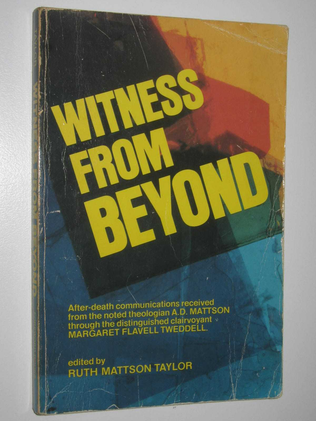 Image for Witness From Beyond