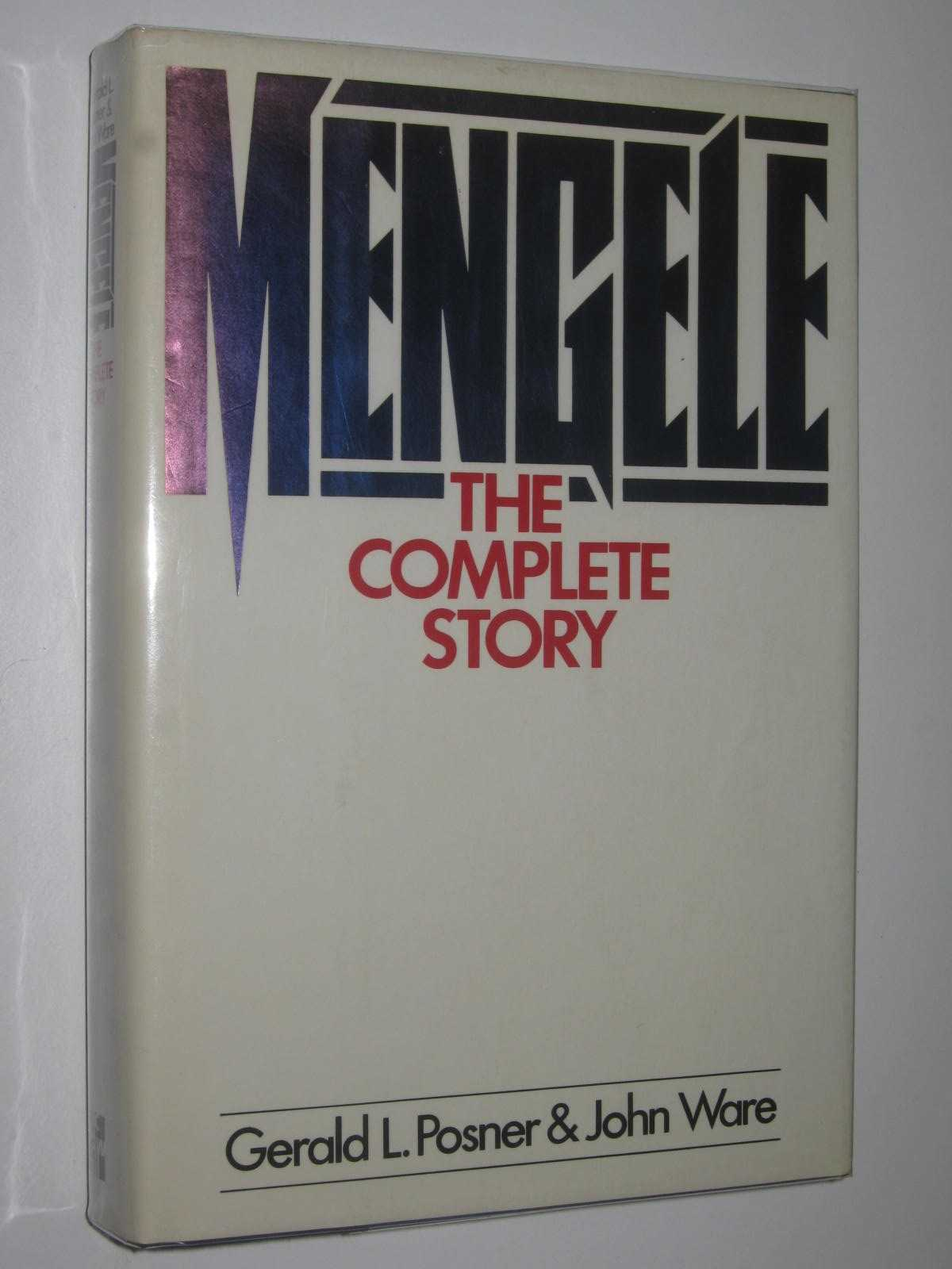 Image for Mengele: The Complete Story