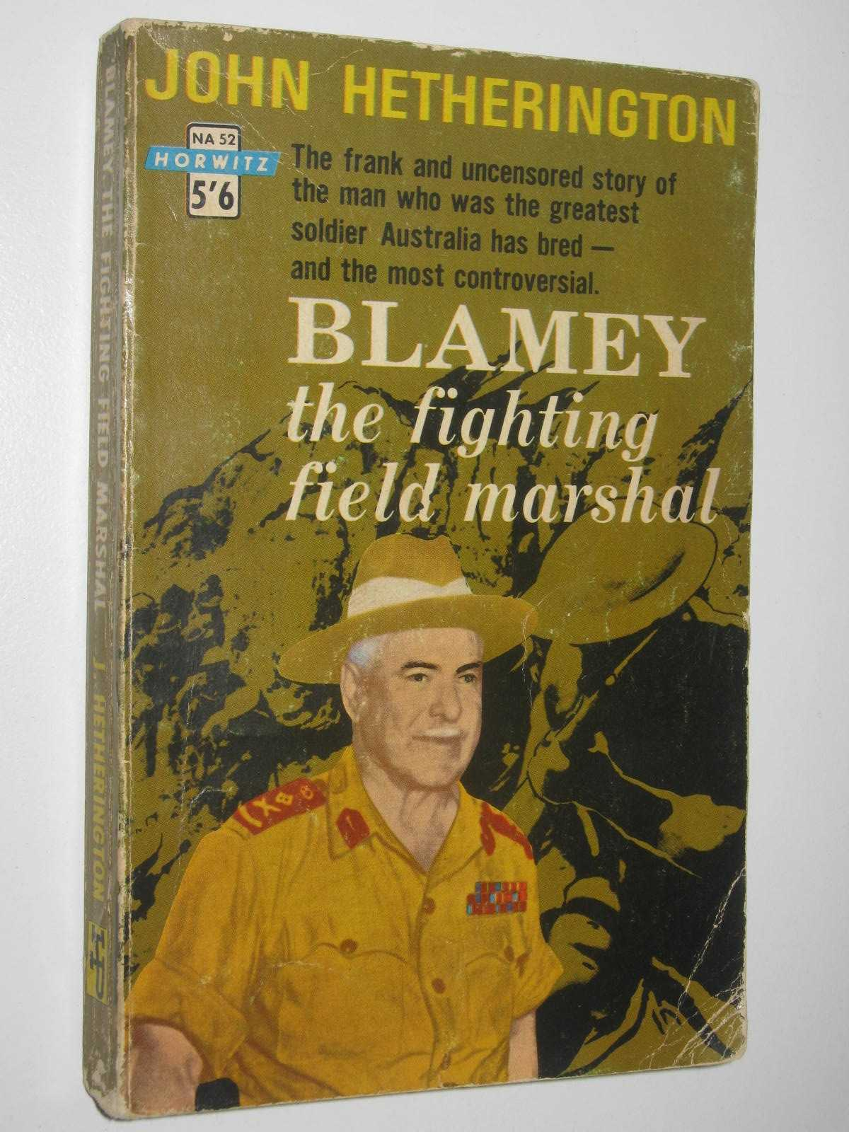 Image for Blamey : The Fighting Field Marshal