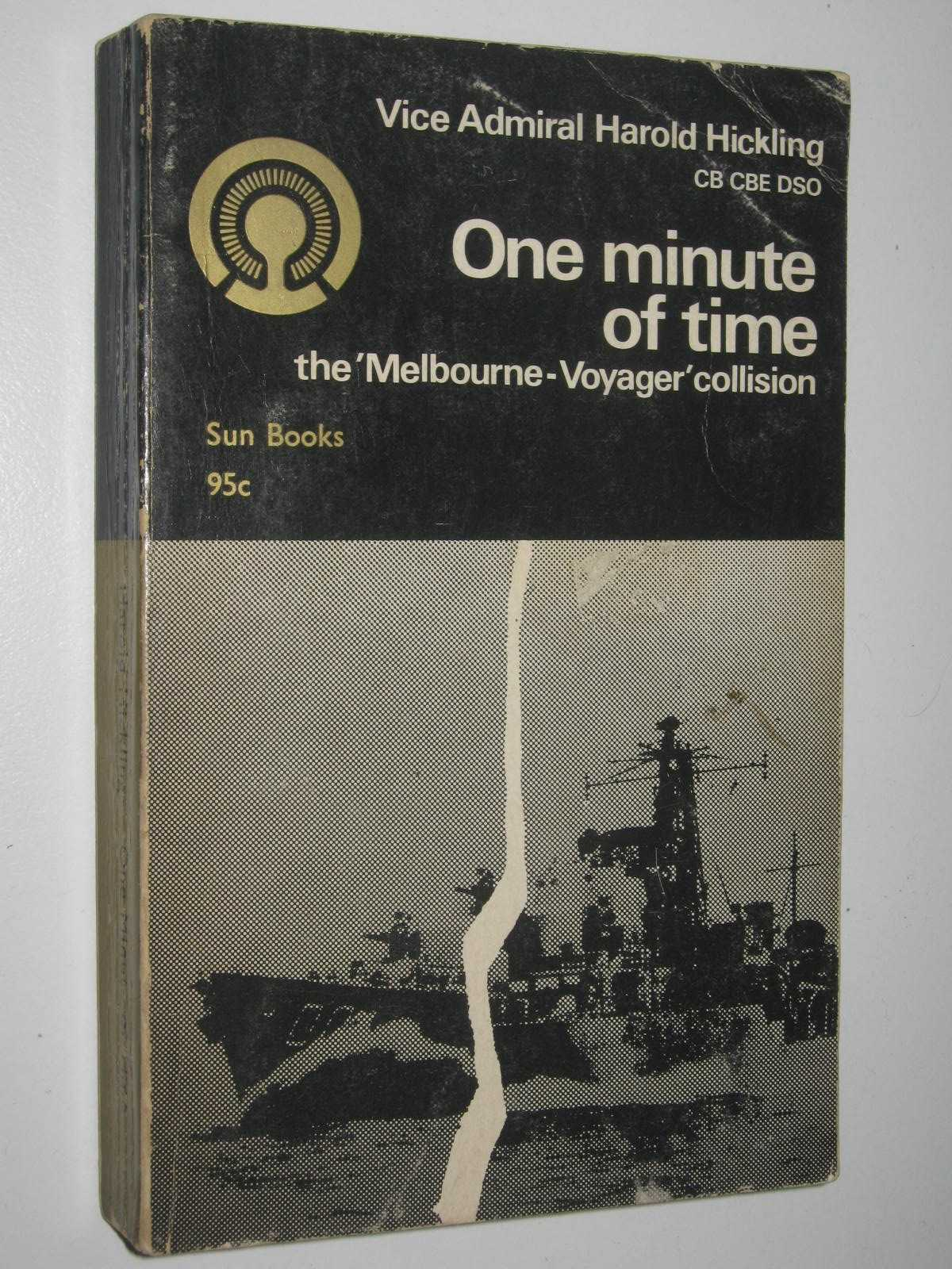 Image for One Minute of Time : The Melbourne- Voyager Collision