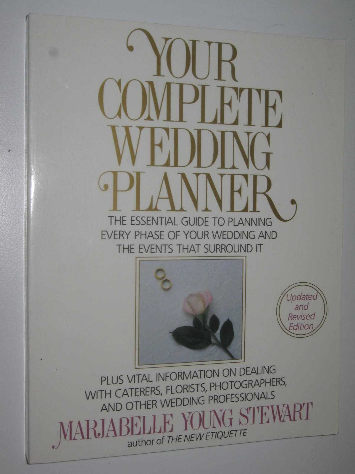Image for Your Complete Wedding Planner