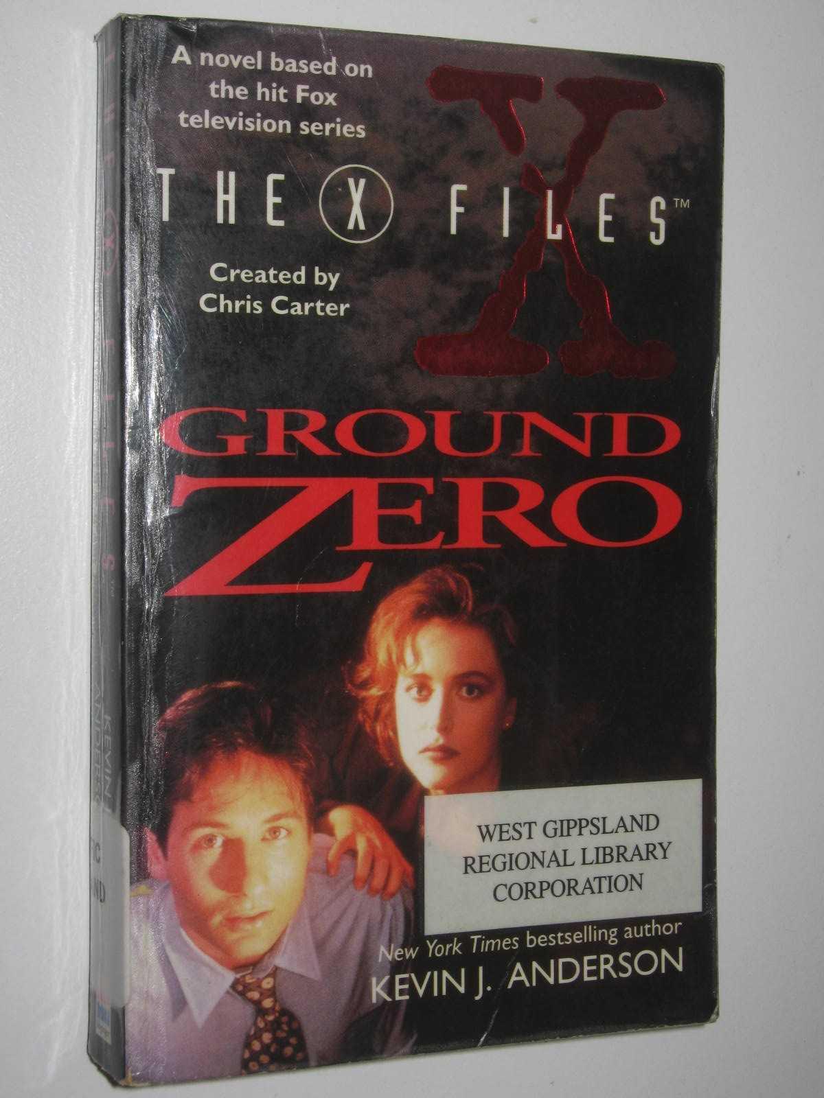 Image for X-files : Ground Zero