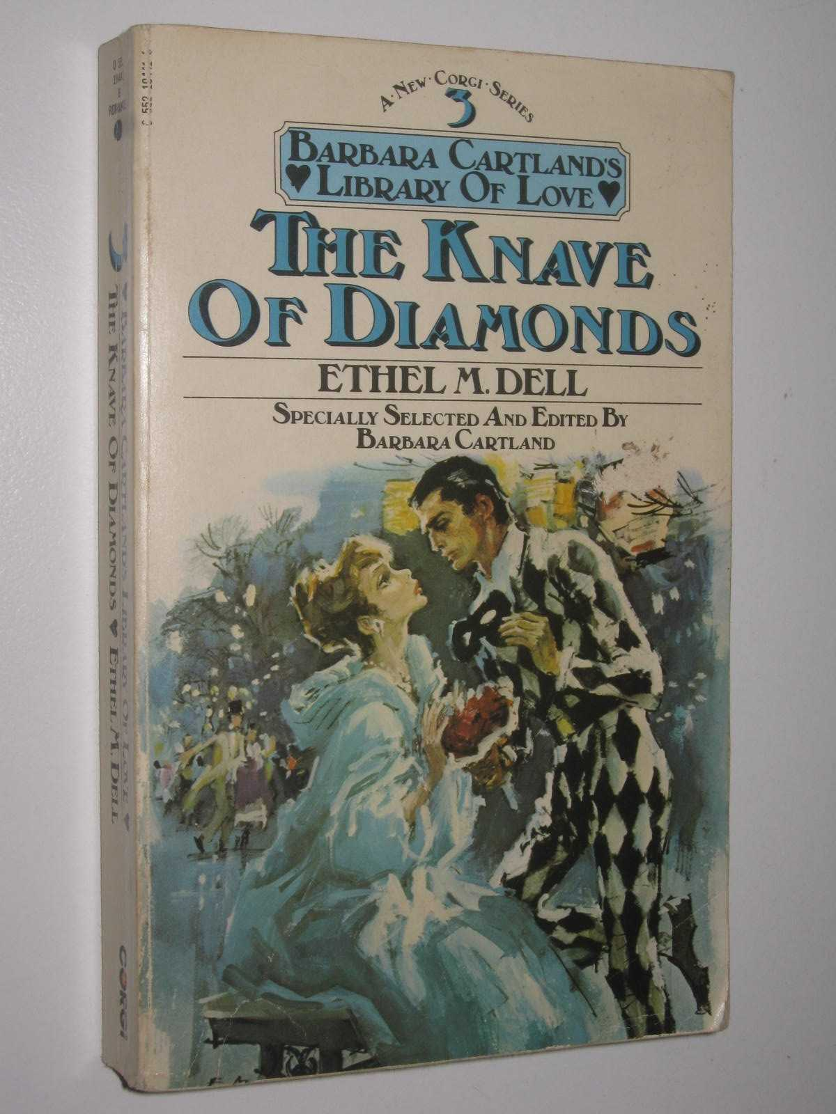 Image for The Knave of Diamonds - Barbara Cartland's Library of Love Series