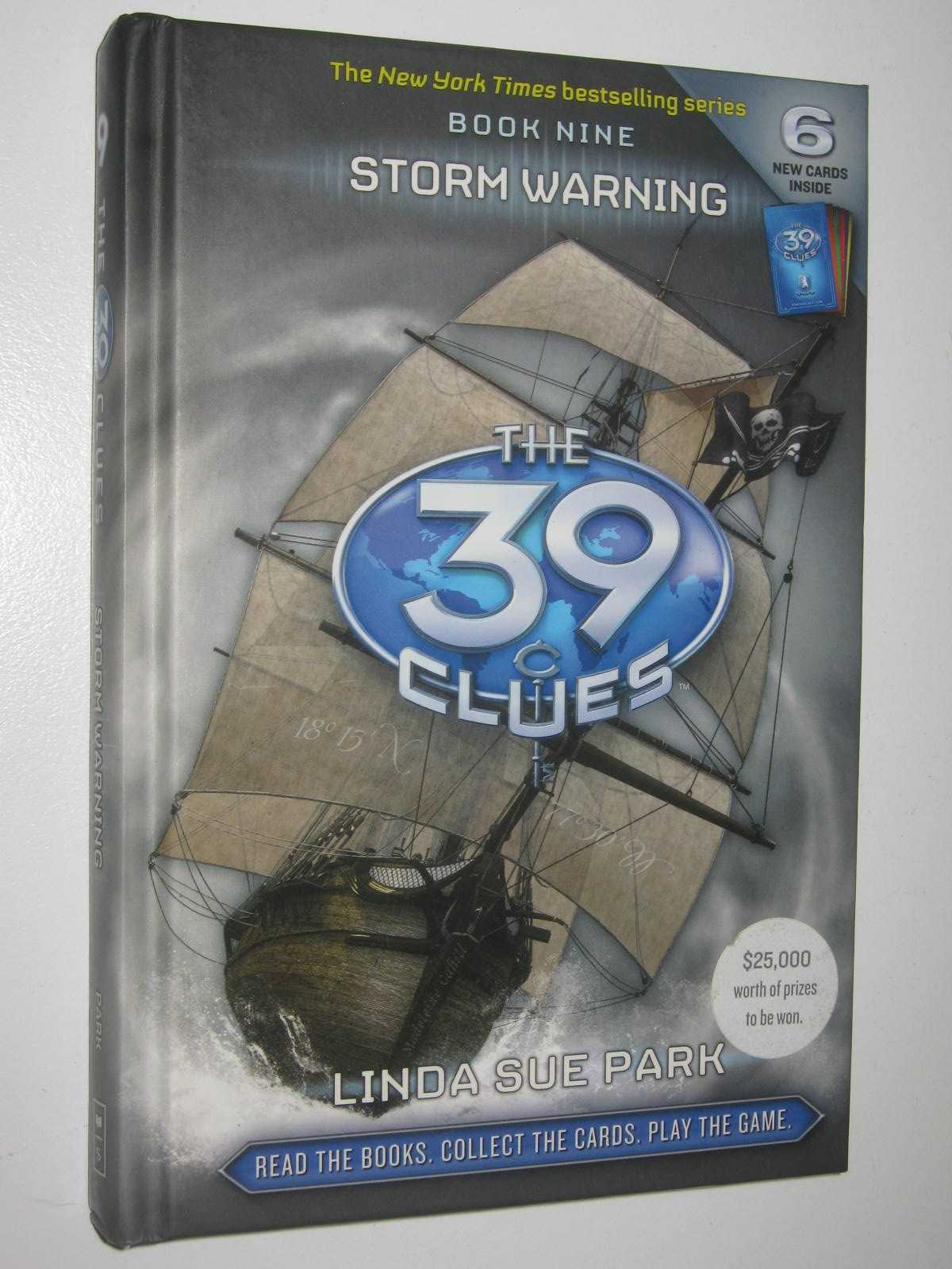 Image for Storm Warning - The 39 Clues Series #9